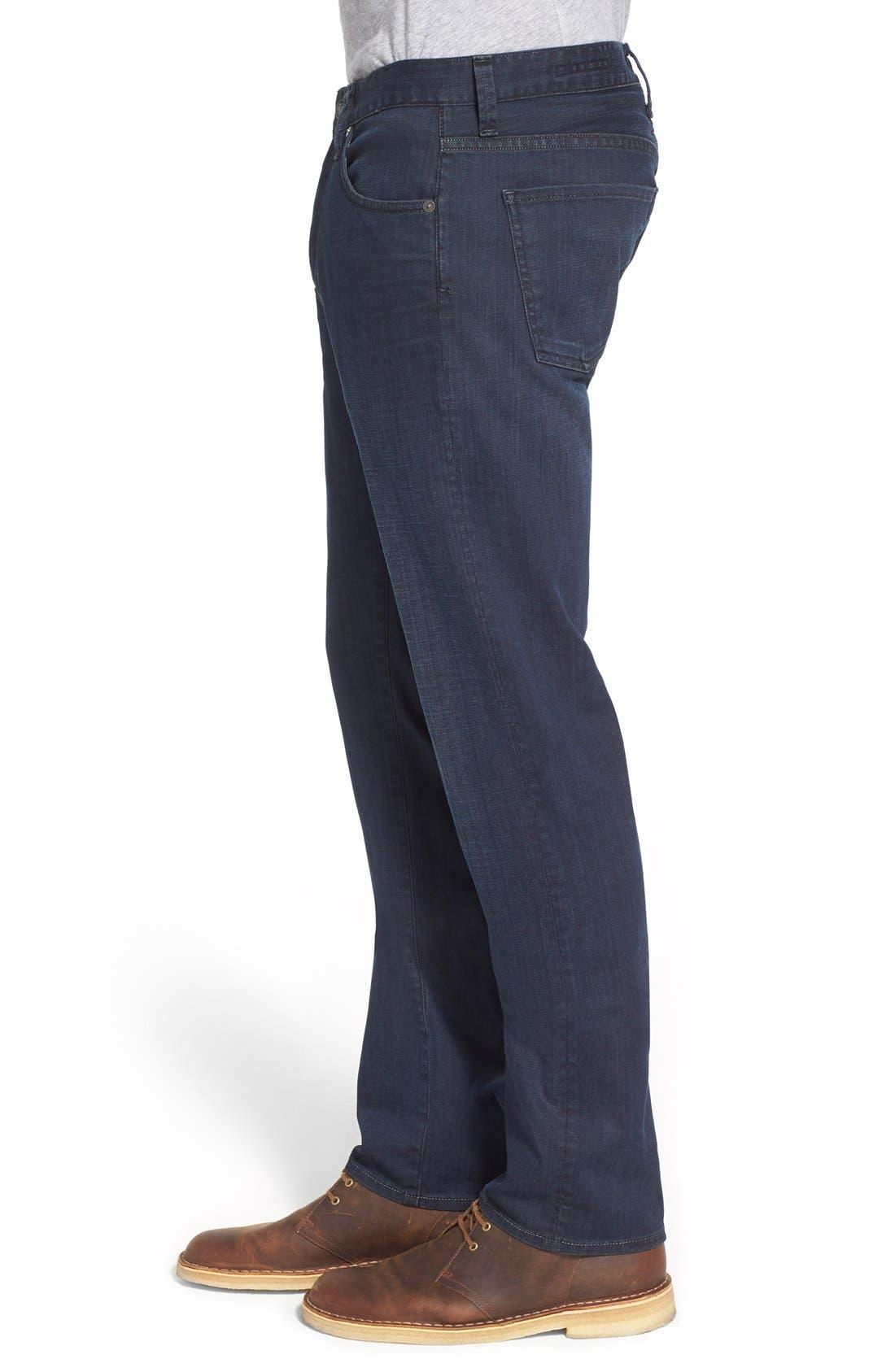 Gage Slim Straight Leg Jeans,                             Alternate thumbnail 3, color,                             Duvall
