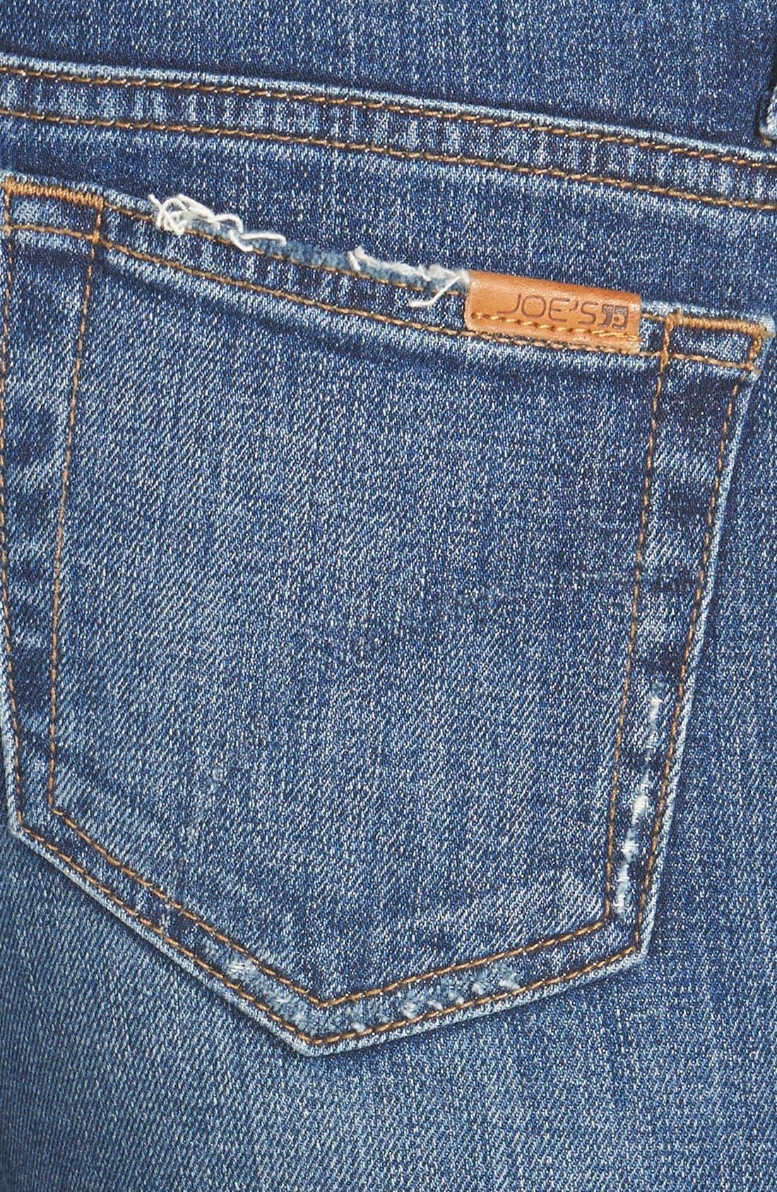 'The Icon' Skinny Jeans,                             Alternate thumbnail 4, color,                             Seneka