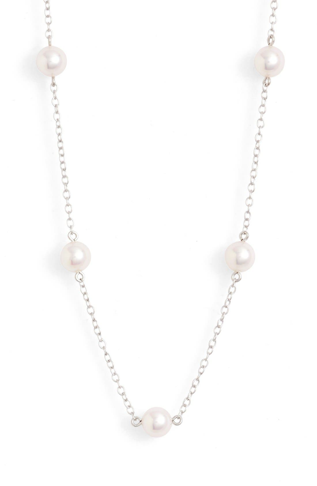 Alternate Image 2  - Mikimoto Chain & Pearl Necklace