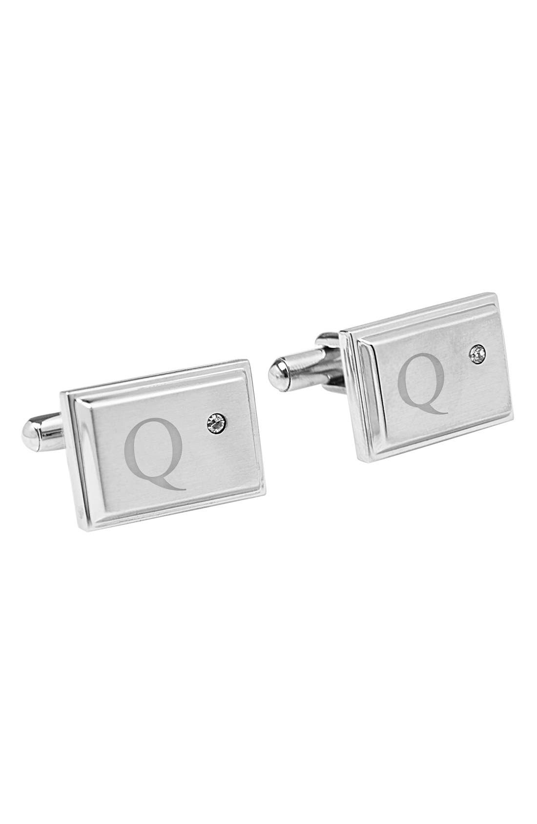 Main Image - Cathy's Concepts Monogram Cuff Links