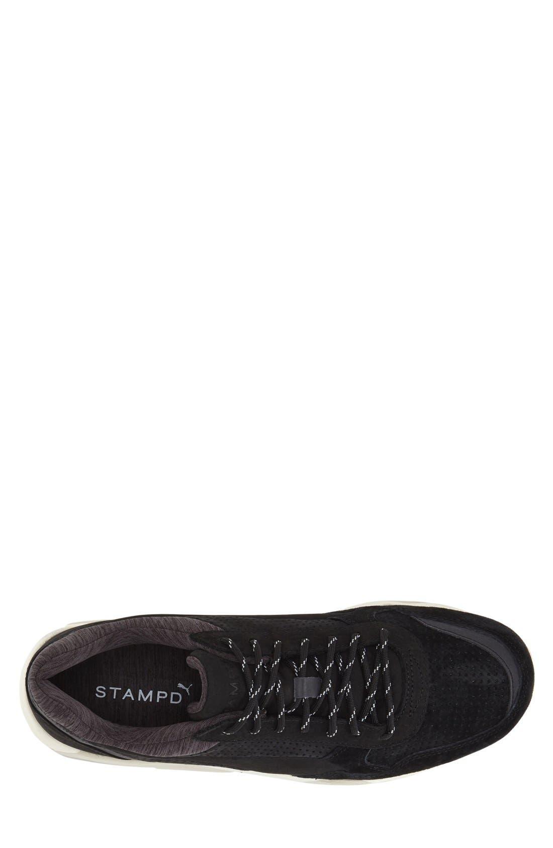'R698 X STAMPD' Sneaker,                             Alternate thumbnail 3, color,                             Black