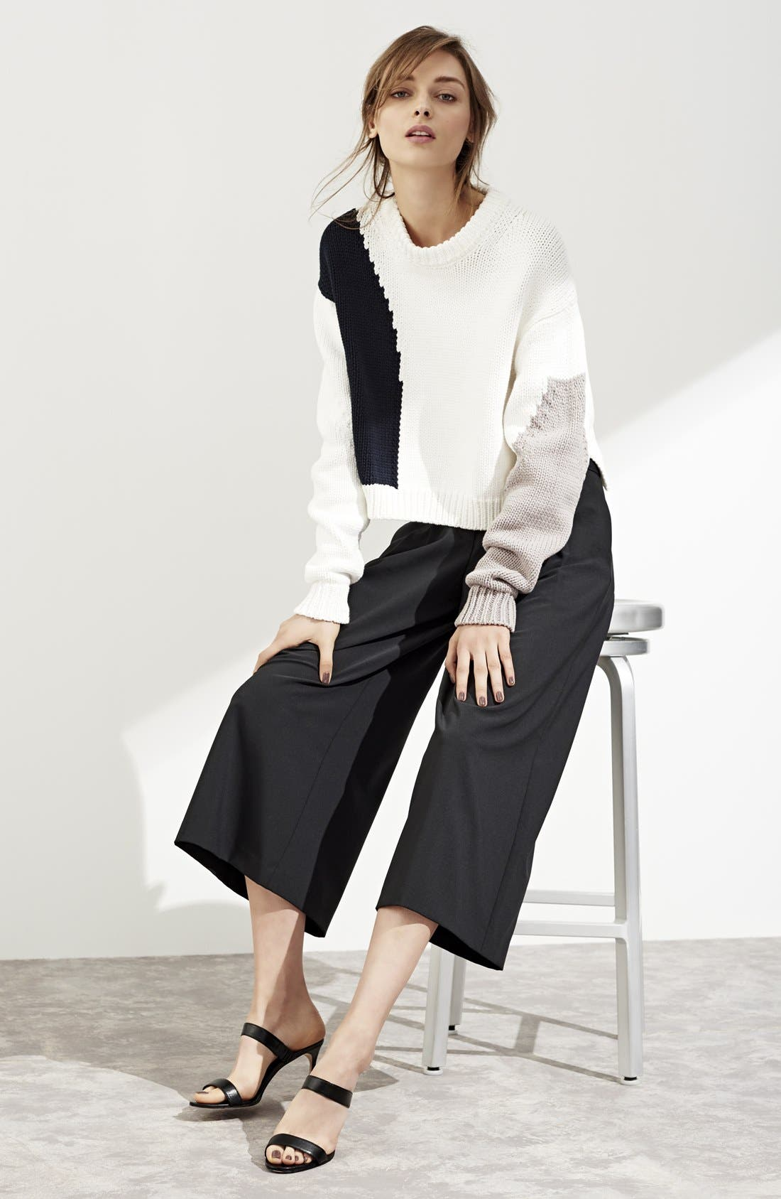 Alternate Image 6  - Tibi Intarsia Sweater
