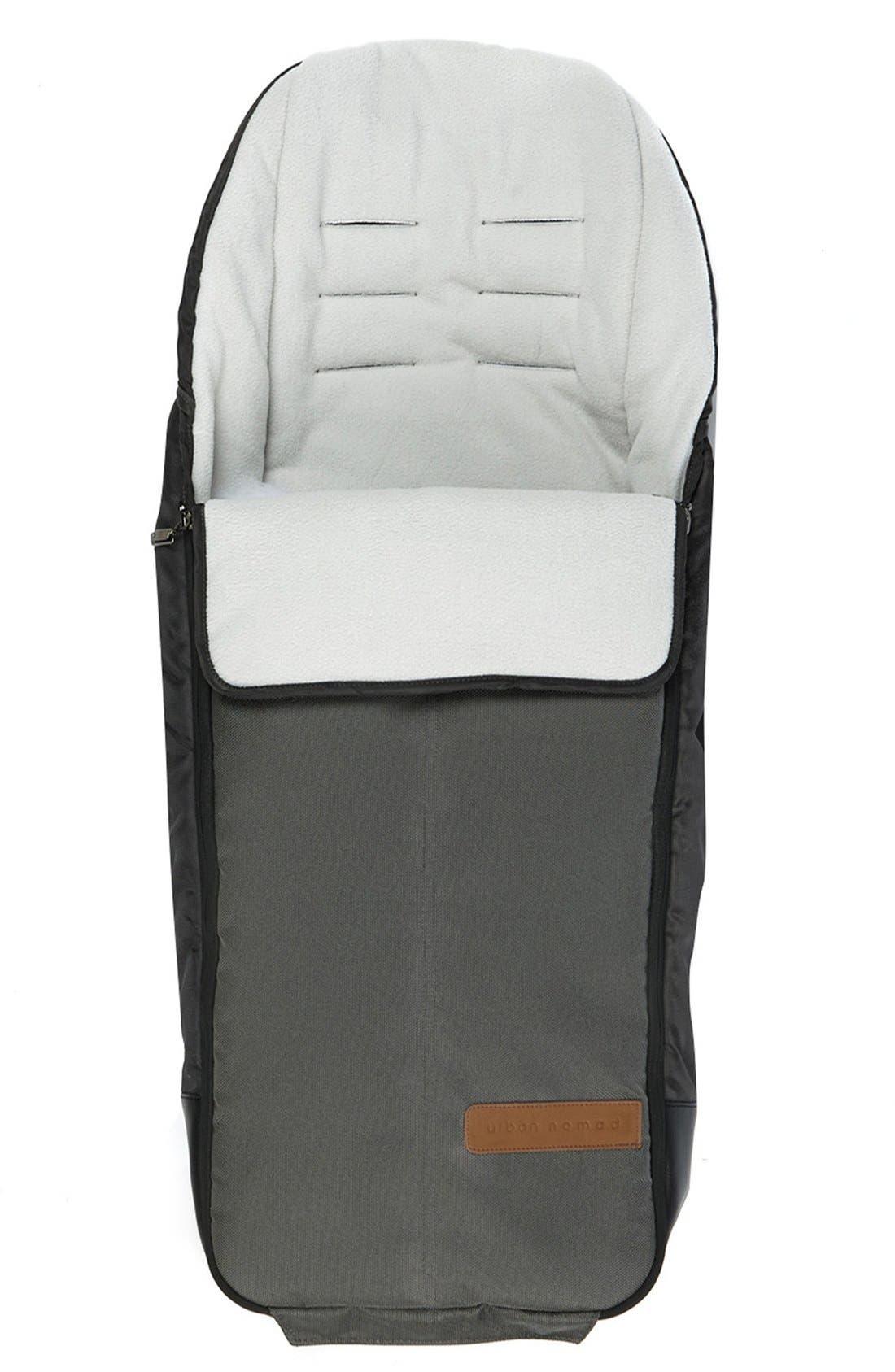 'Igo - Urban Nomad' Water Resistant Footmuff,                         Main,                         color, Dark Grey