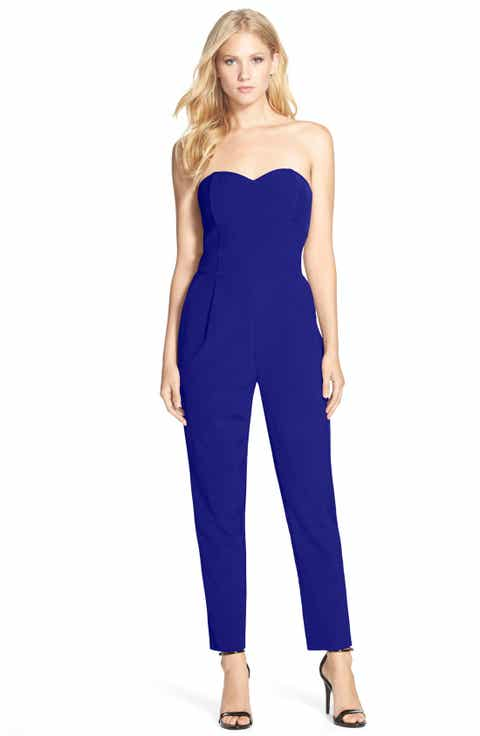 Adelyn Rae Strapless Jumpsuit - Wedding Guest Jumpsuits & Rompers For Women Nordstrom Nordstrom
