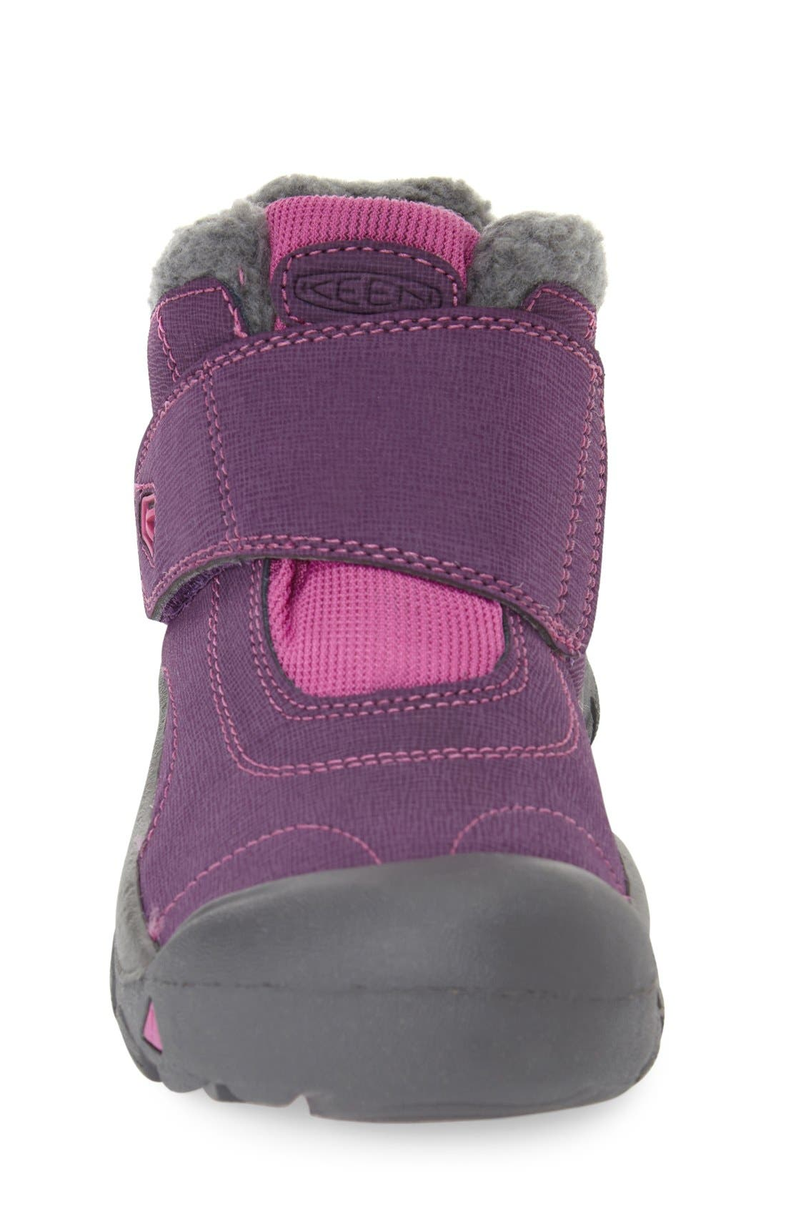 'Kootenay' Waterproof Winter Boot,                             Alternate thumbnail 3, color,                             Wineberry/ Dahlia Mauve