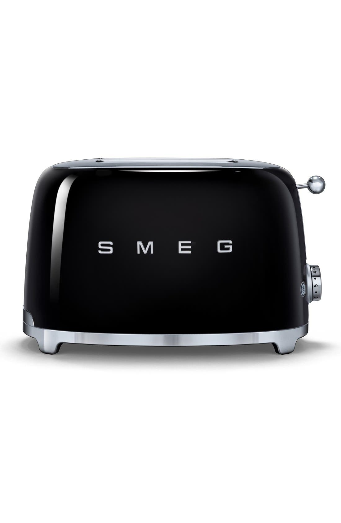 Alternate Image 1 Selected - smeg '50s Retro Style Aesthetic' Two-Slice Toaster