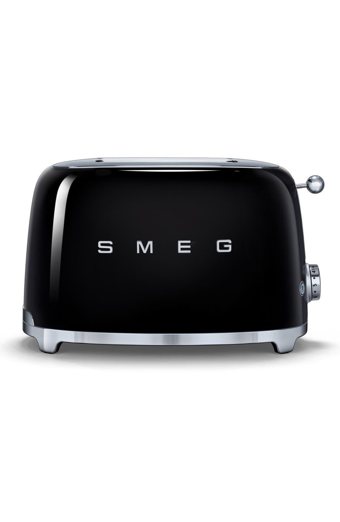 Main Image - smeg '50s Retro Style Aesthetic' Two-Slice Toaster