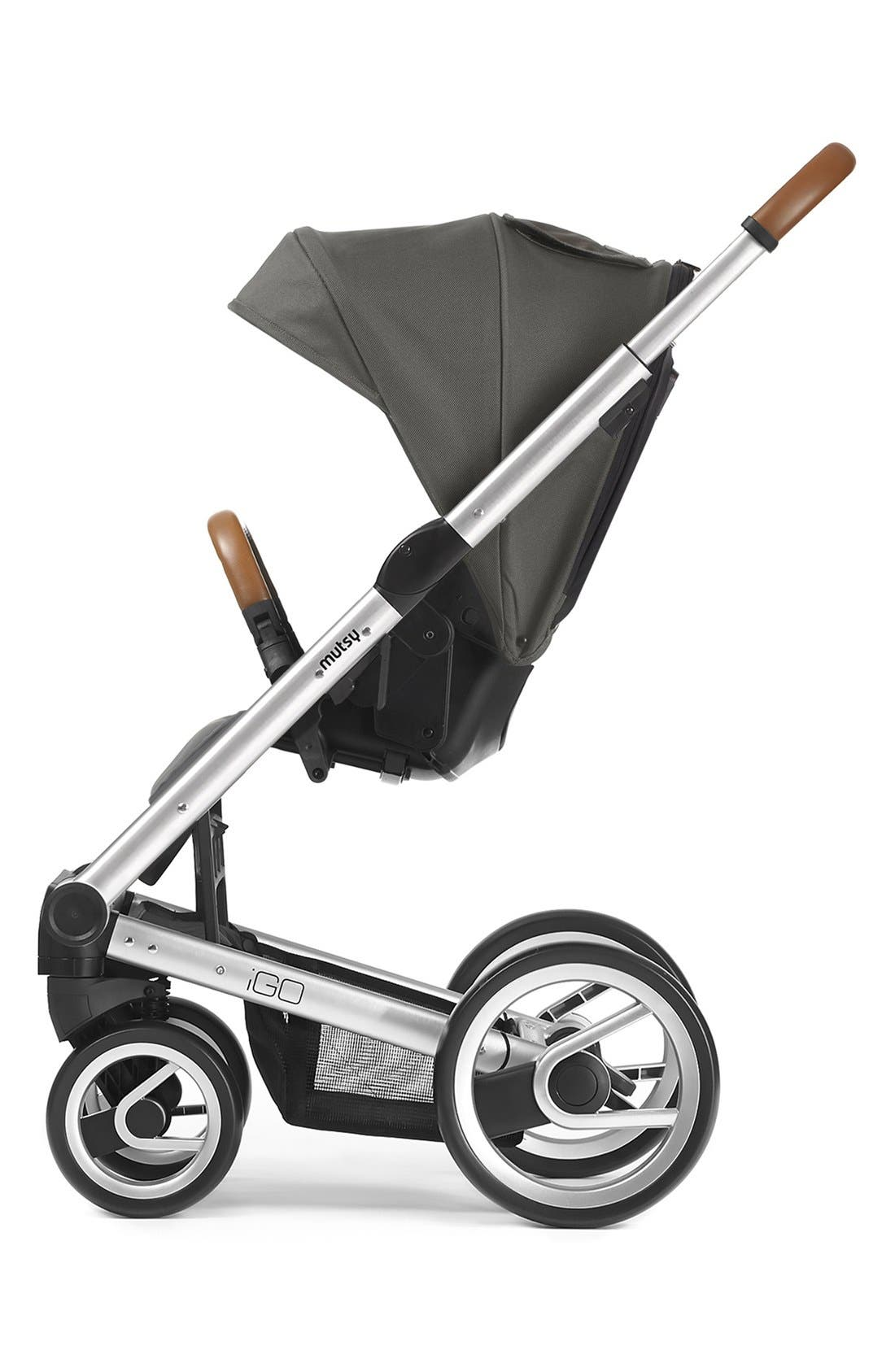 Igo - Urban Nomad Stroller,                             Main thumbnail 1, color,                             Silver/ Dark Grey