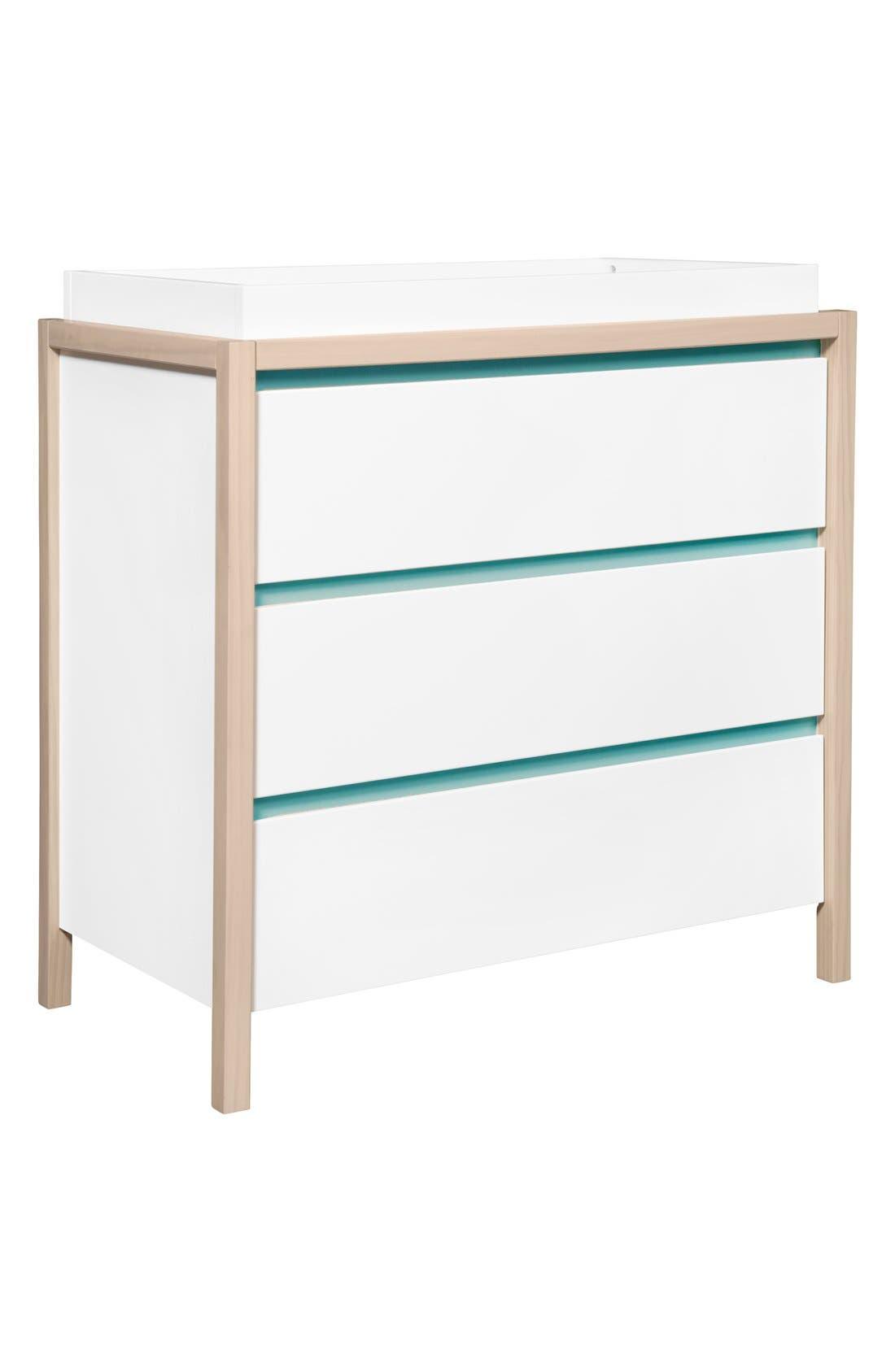Alternate Image 2  - babyletto 'Bingo' Three Drawer Changer Dresser