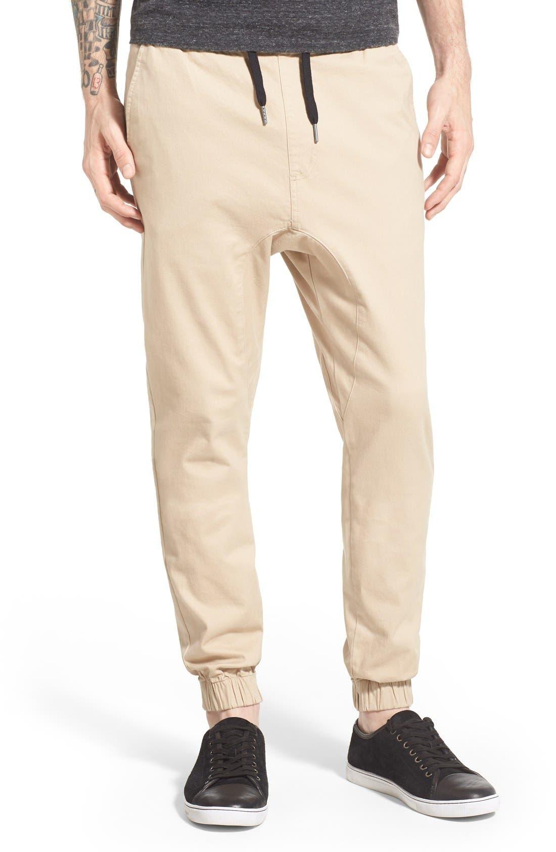 'Sureshot' Jogger Pants,                         Main,                         color, Tan