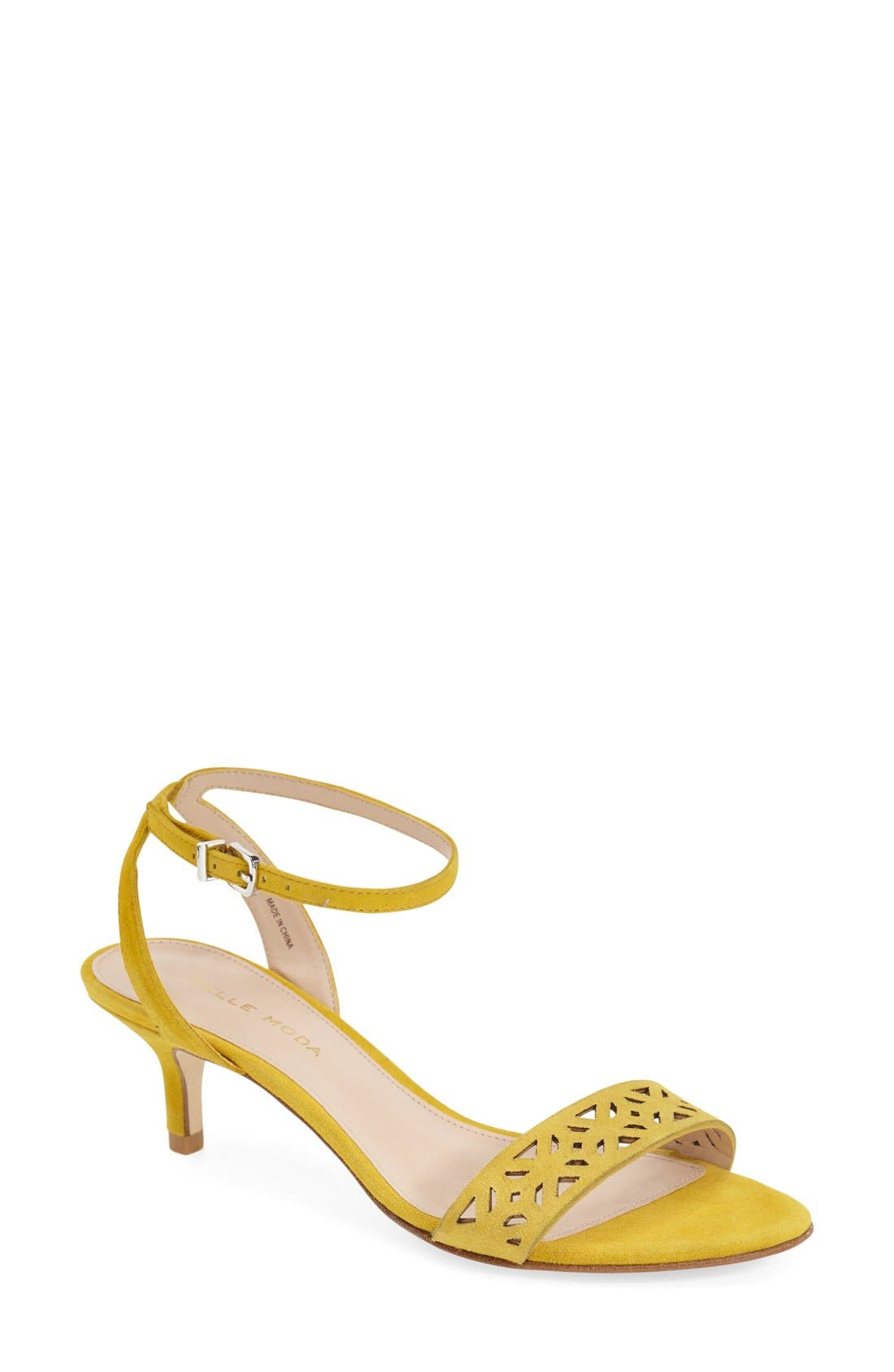 Pelle Moda 'Otis' Ankle Strap Sandal (Women)