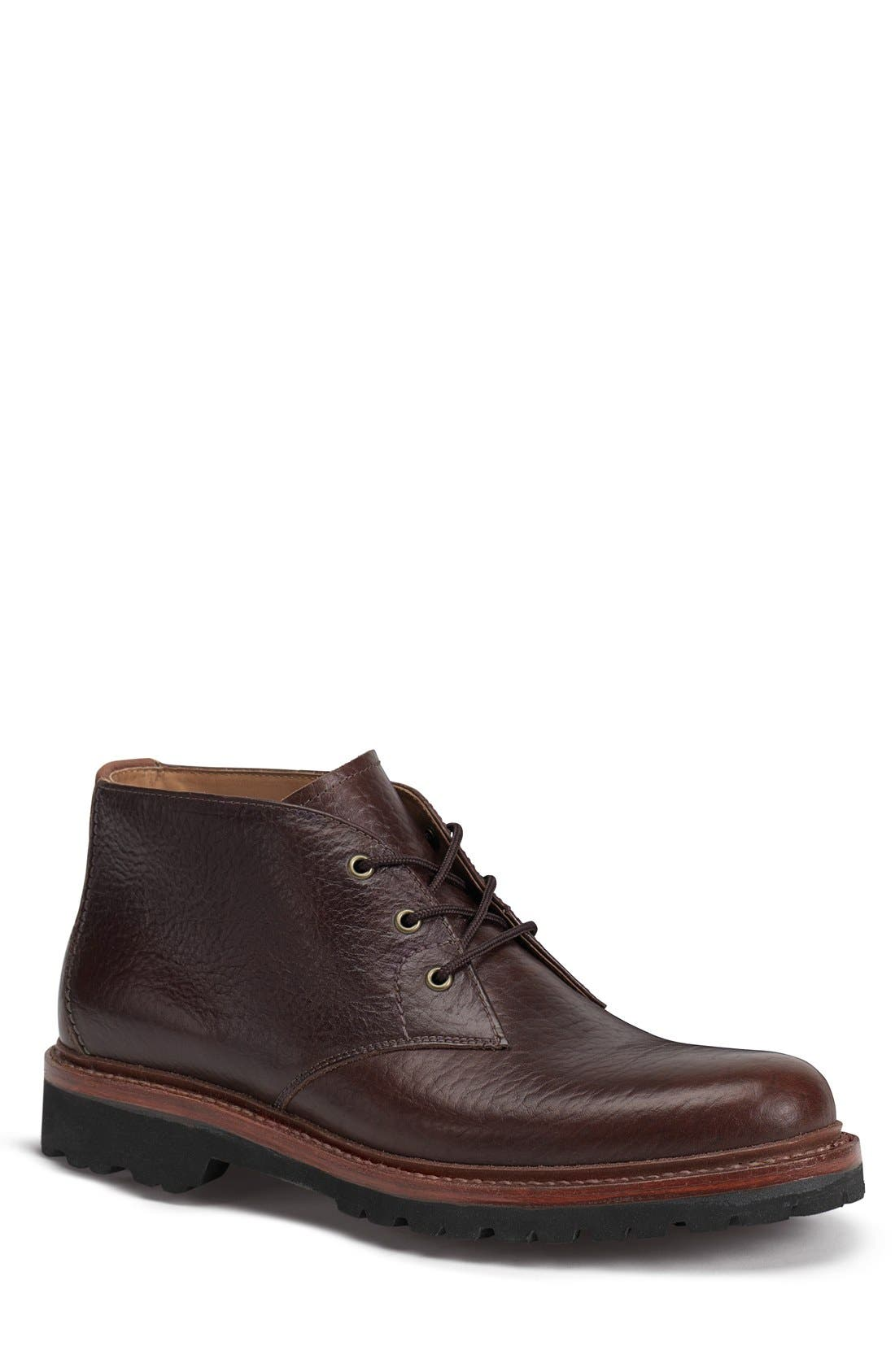 'Gulch II' Chukka Boot,                         Main,                         color, Bourbon Leather