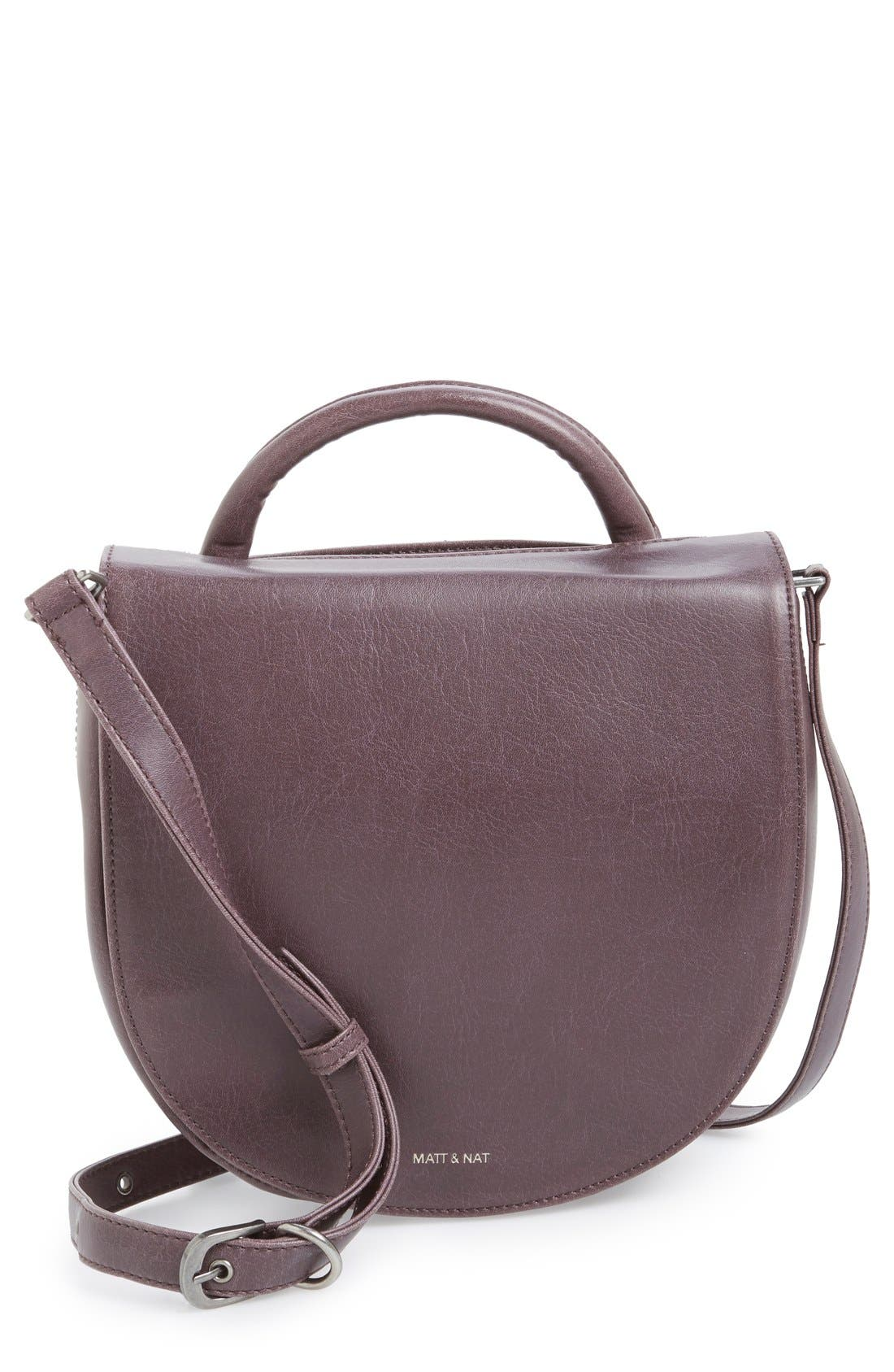Alternate Image 1 Selected - Matt & Nat 'Parabole' Vegan Leather Crossbody Bag