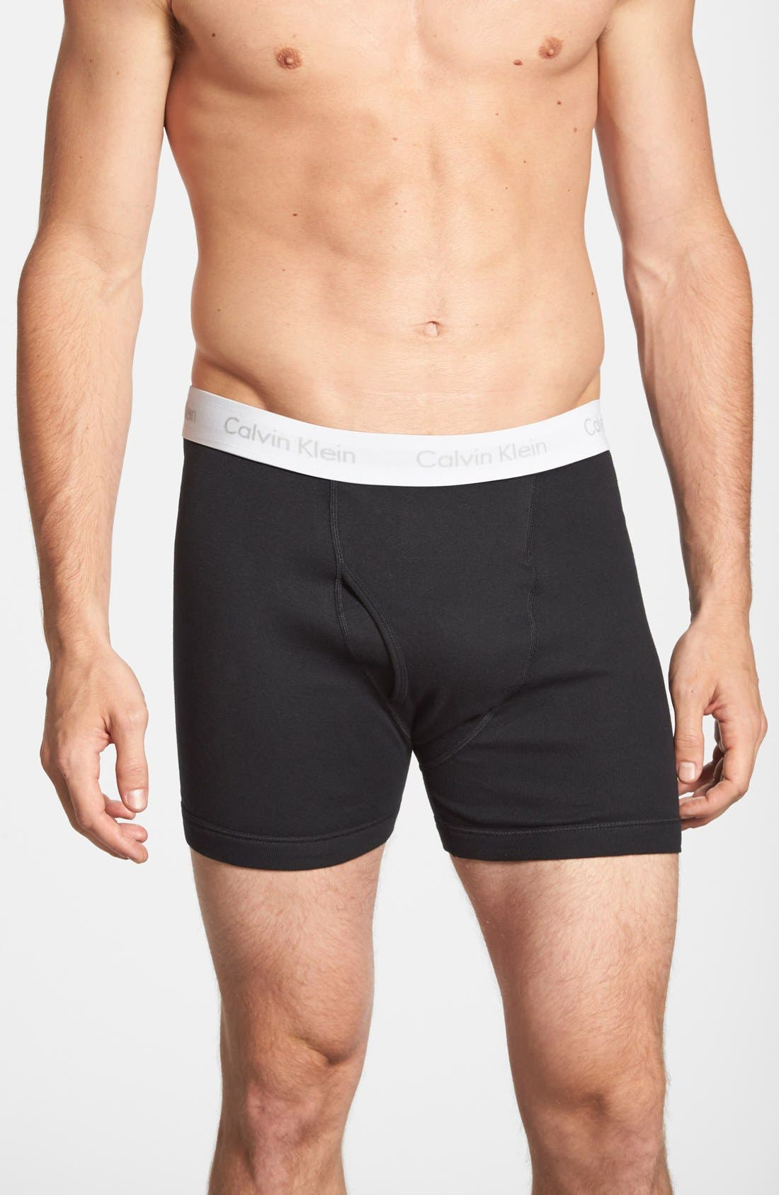 Alternate Image 1 Selected - Calvin Klein 2-Pack Boxer Briefs