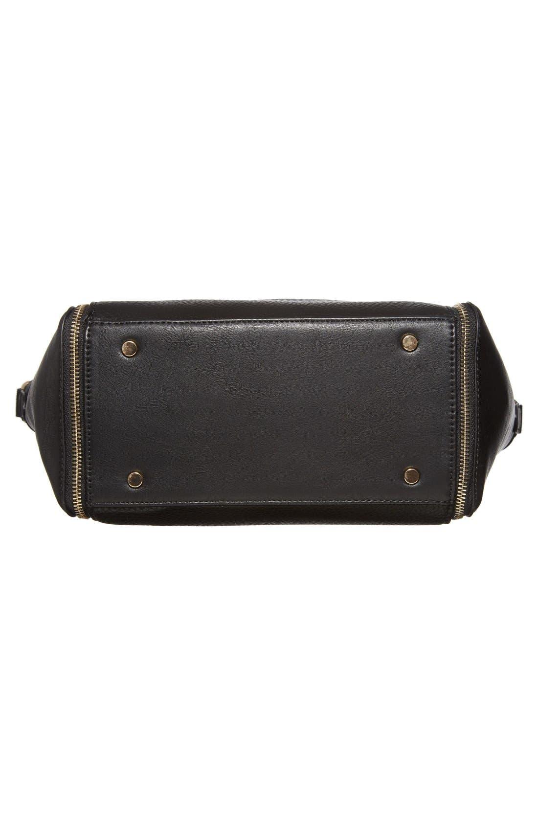 Alternate Image 6  - Sole Society 'Kaylen' Faux Leather Crossbody Satchel
