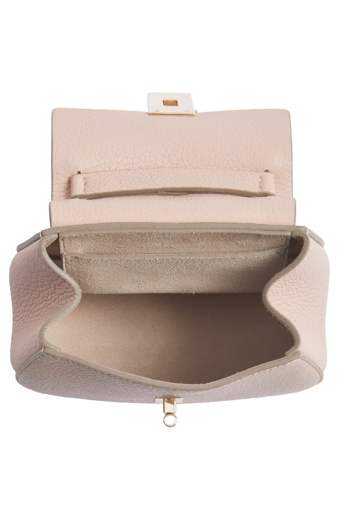 Alternate Image 2  - Chloé 'Nano Drew' Lambskin Leather Shoulder Bag