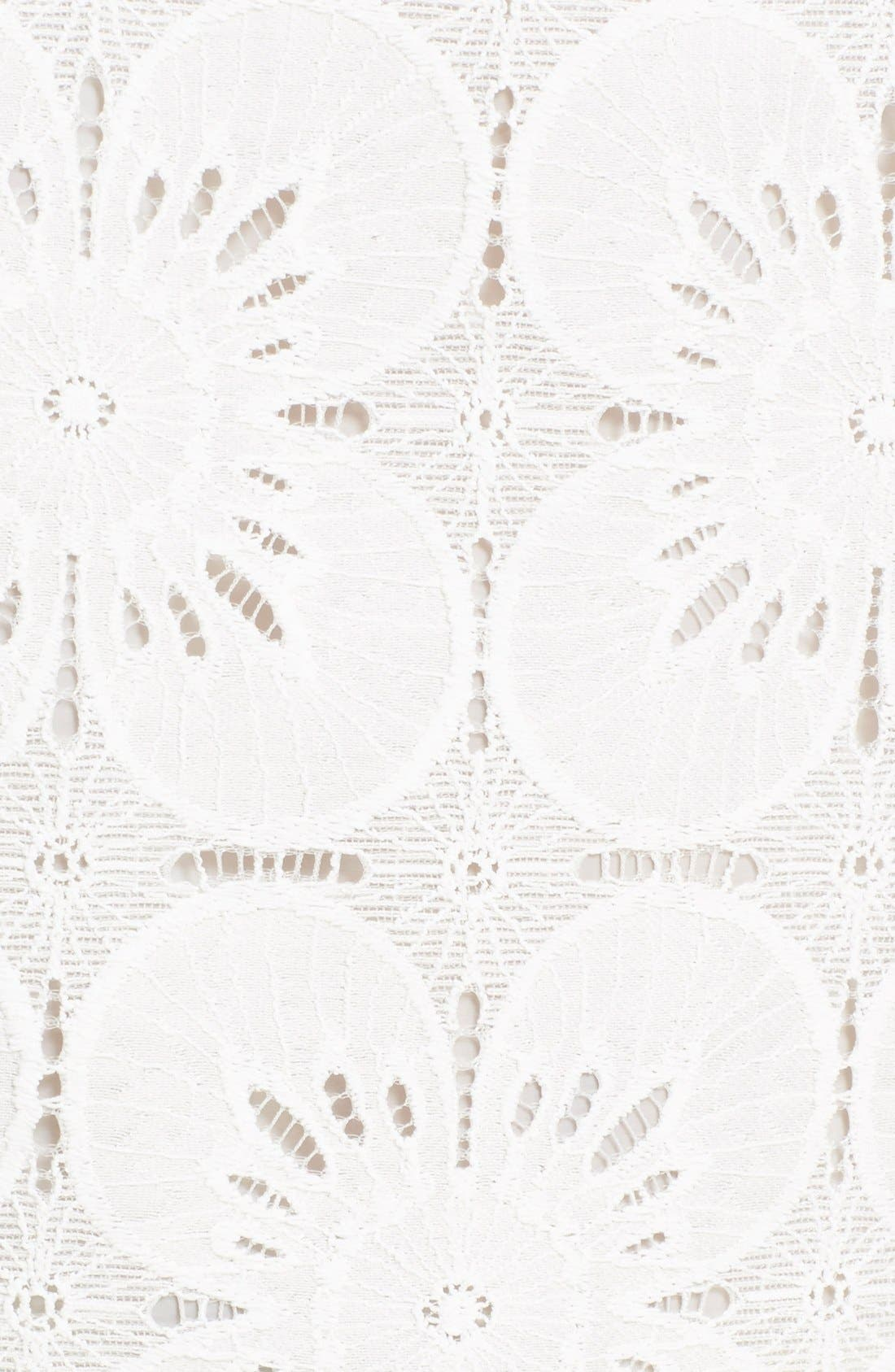 Alternate Image 5  - Trina Turk 'Pretti' Lace Top
