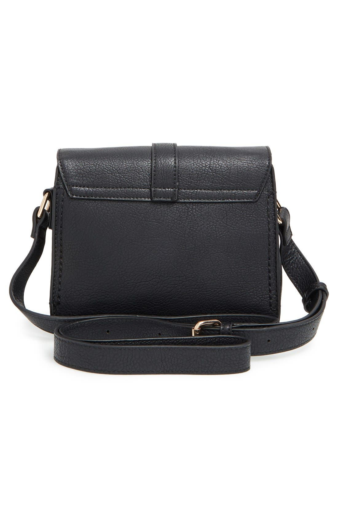 Alternate Image 3  - Sole Society 'Saylah' Structured Faux Leather Crossbody Bag