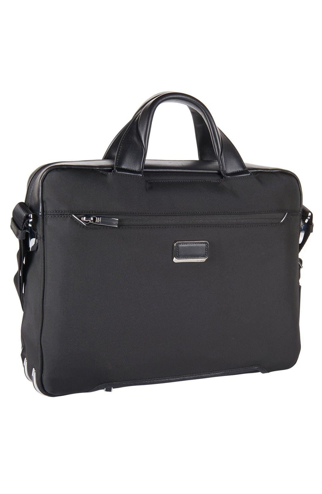 Arrivé - Sawyer Briefcase,                             Alternate thumbnail 2, color,                             Black