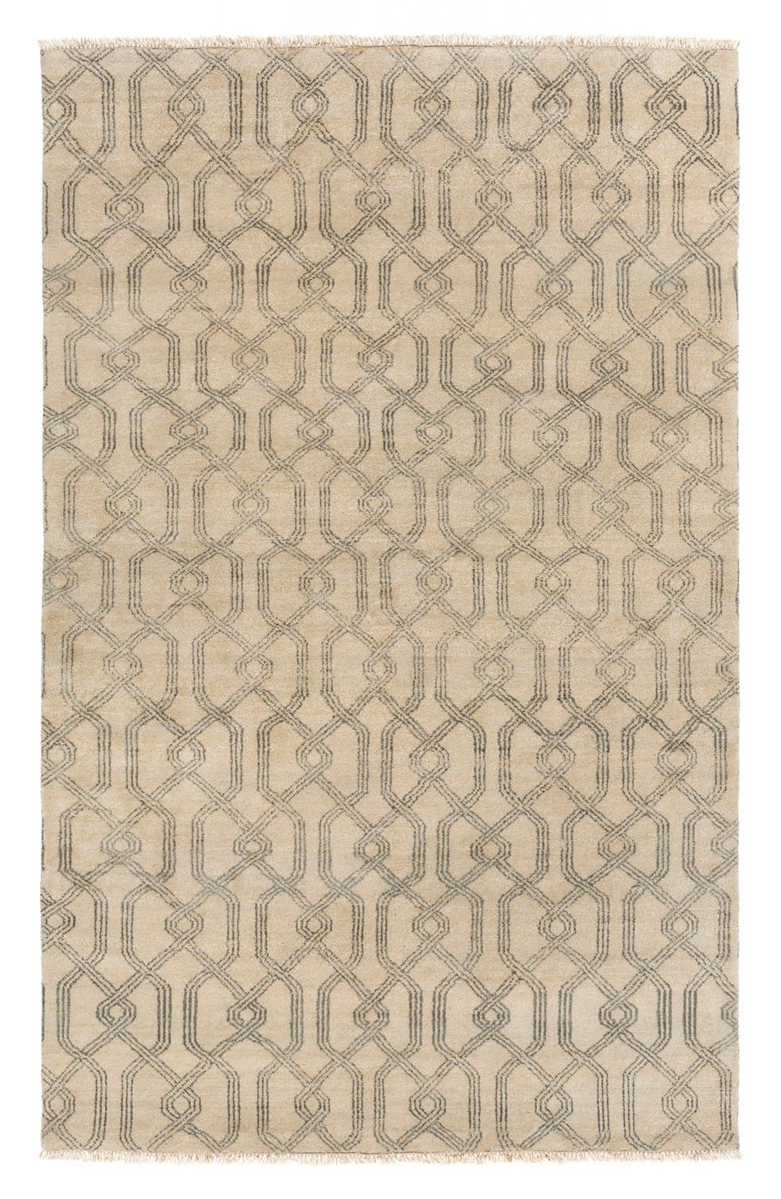 Alternate Image 1 Selected - Surya Home 'Stanton' Wool & Cotton Rug