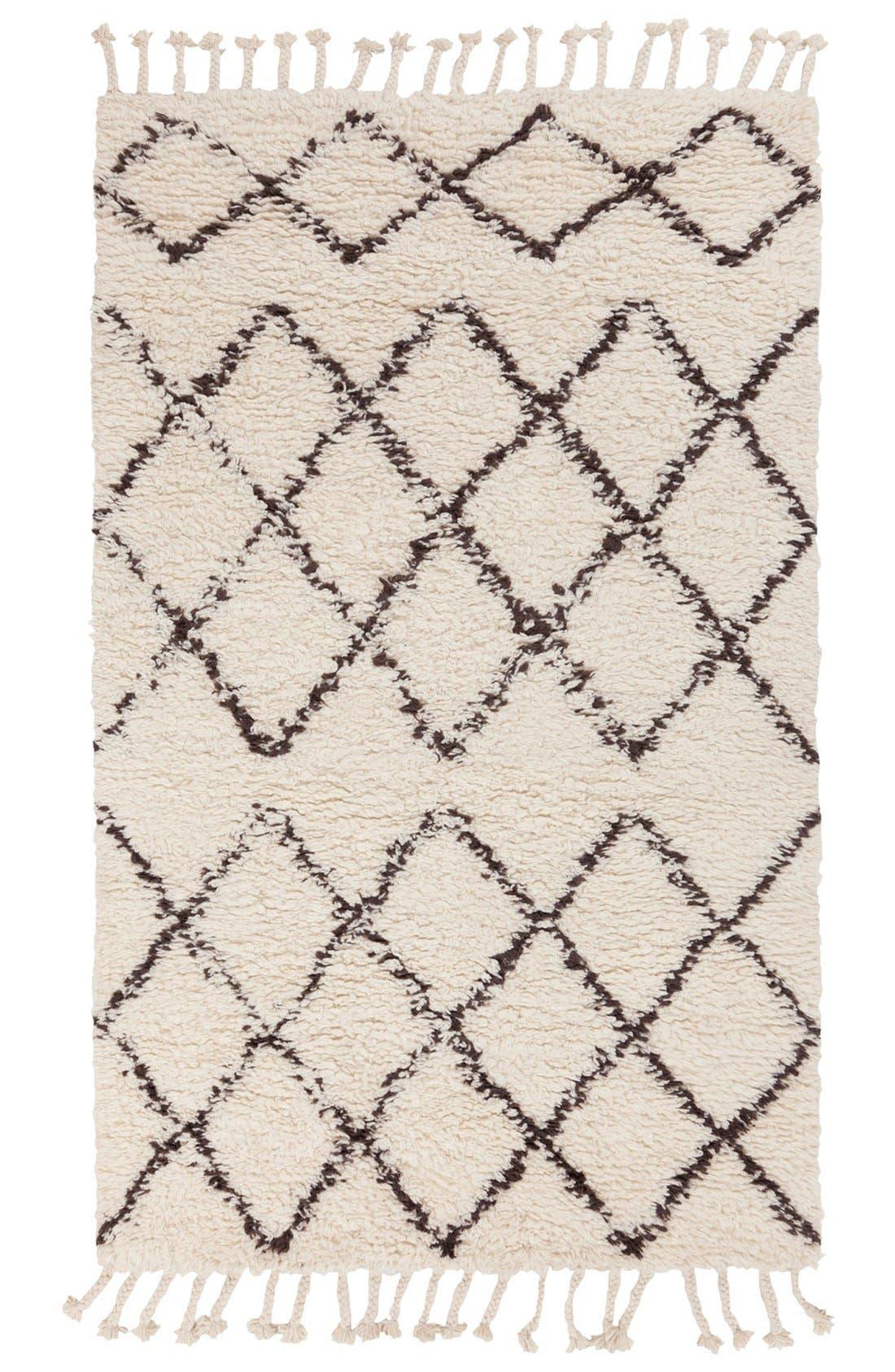 Alternate Image 1 Selected - Surya Home 'Sherpa - Lines' Wool Rug