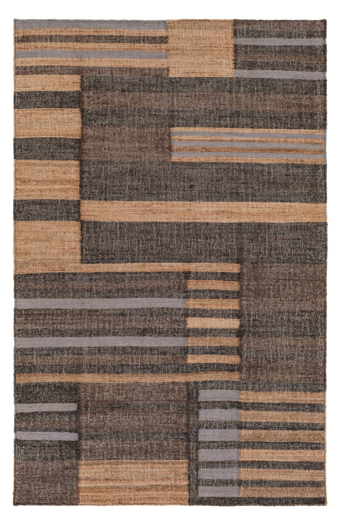 'Seaport Lines' Rug,                             Main thumbnail 1, color,                             Light Grey Multi