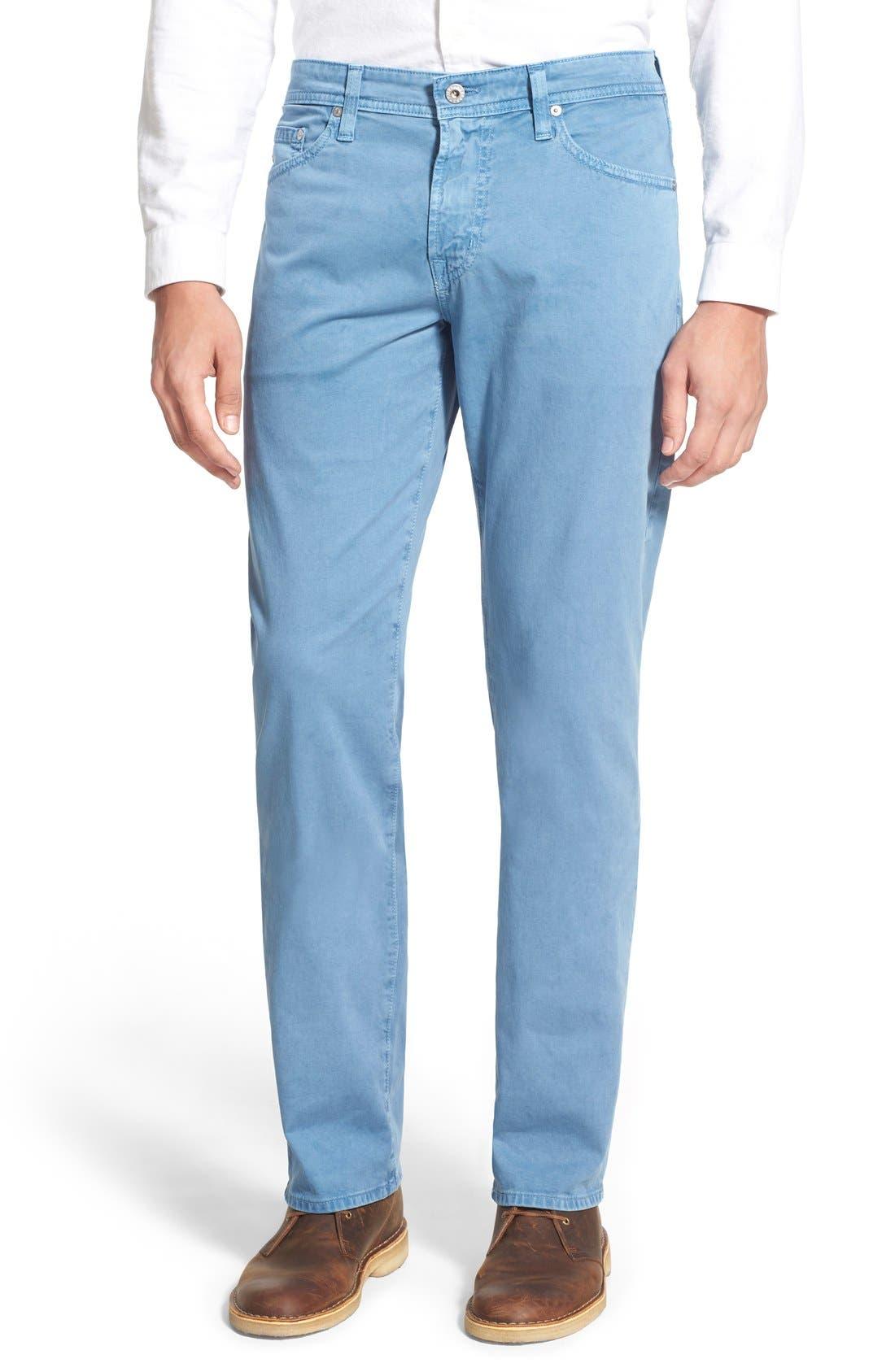 Main Image - AG Graduate SUD Slim Straight Leg Pants