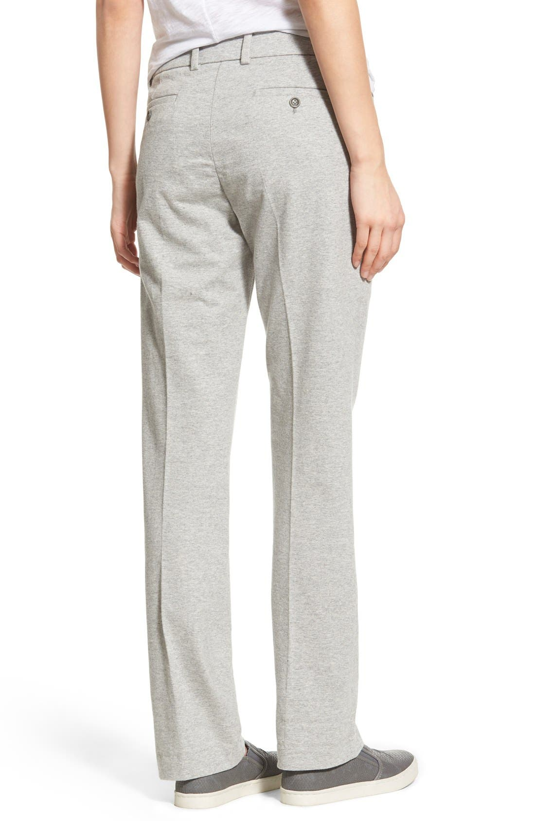 Alternate Image 2  - James Perse Cotton Jersey Trousers