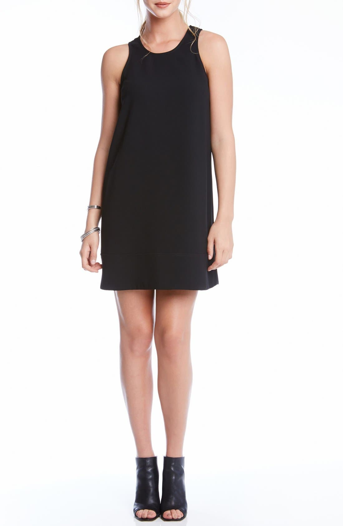 Alternate Image 2  - Karen Kane Crepe Racerback Shift Dress
