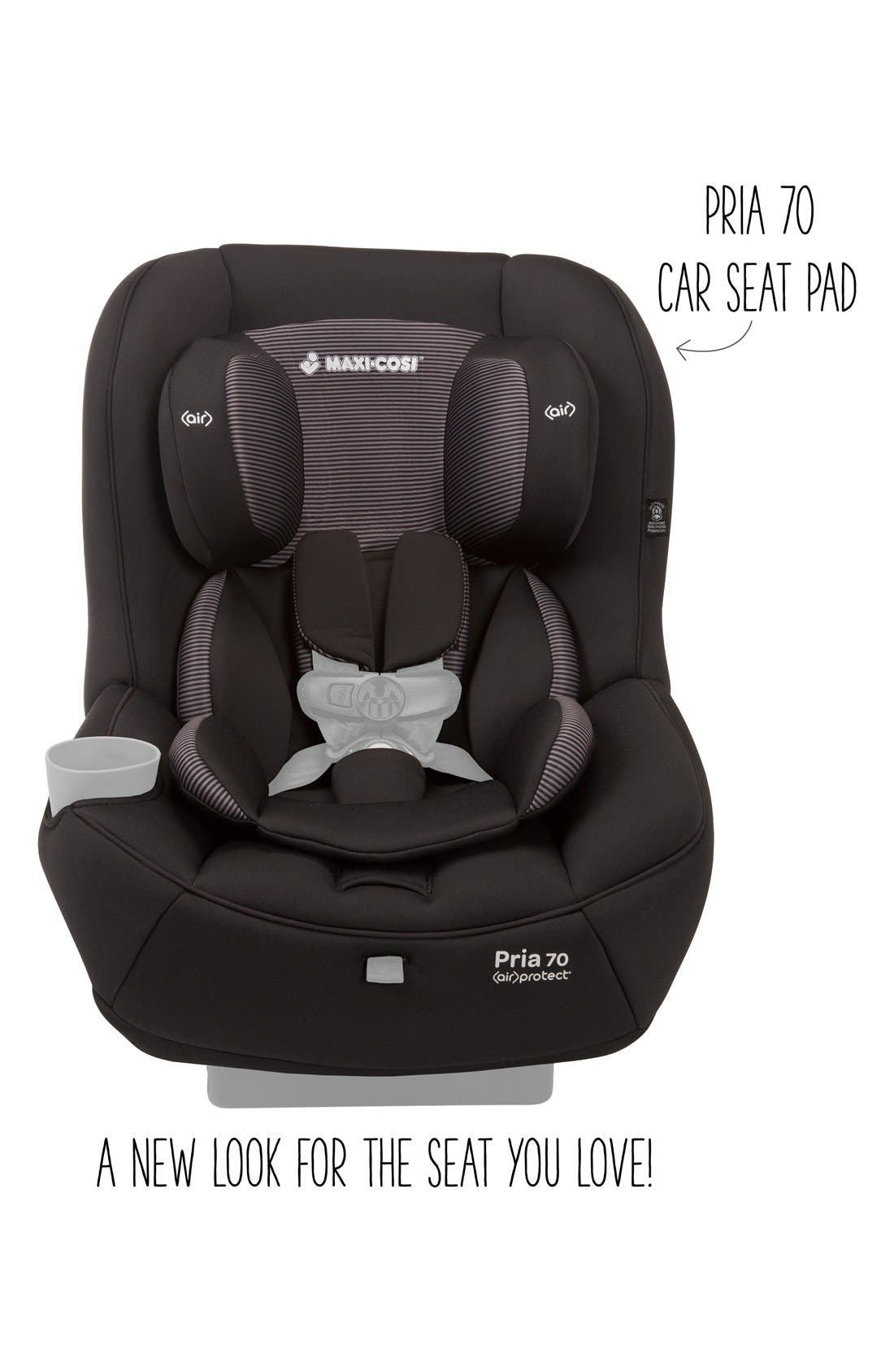 Seat Pad Fashion Kit for Pria<sup>™</sup> 70 Car Seat,                             Alternate thumbnail 2, color,                             Black Gravel