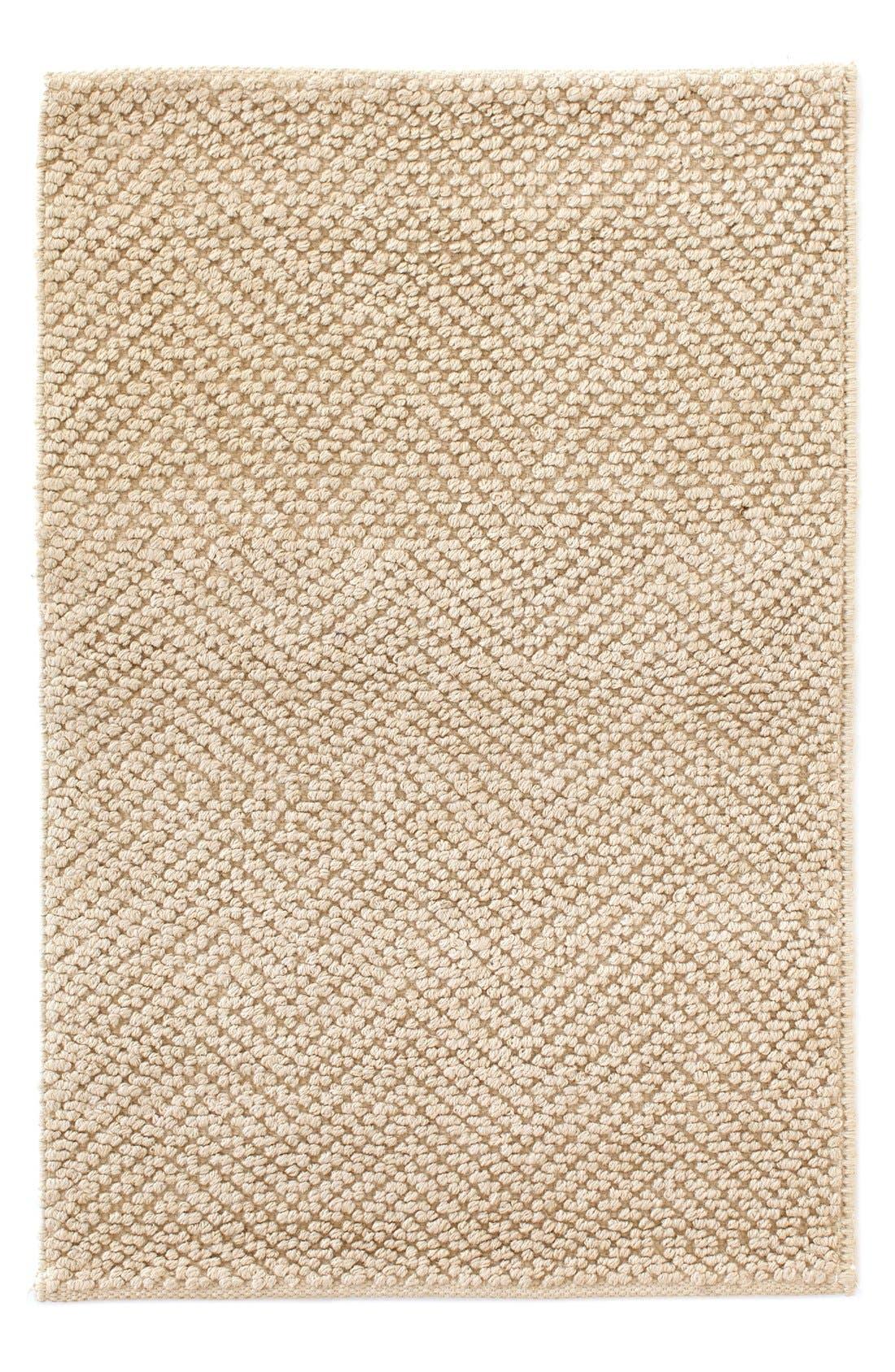 Dash & Albert Woven Jute & Cotton Rug