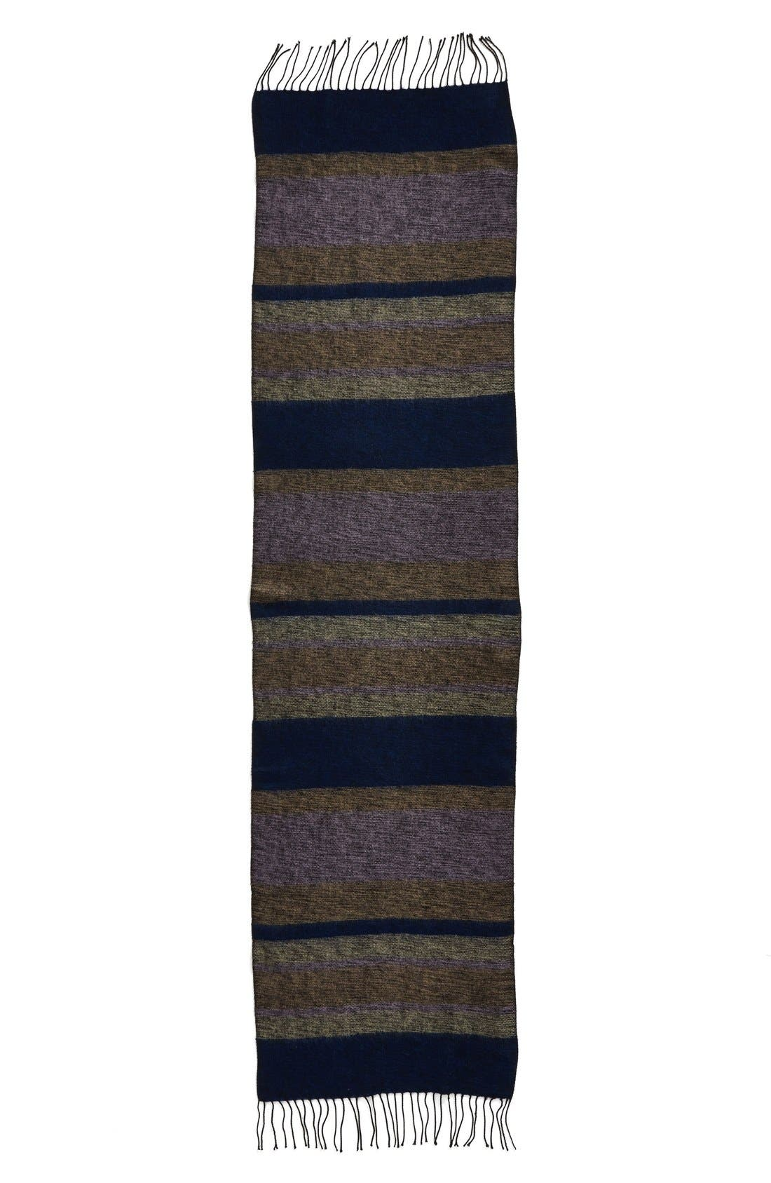 Alternate Image 1 Selected - Echo 'Meadow Stripe' Wrap Scarf