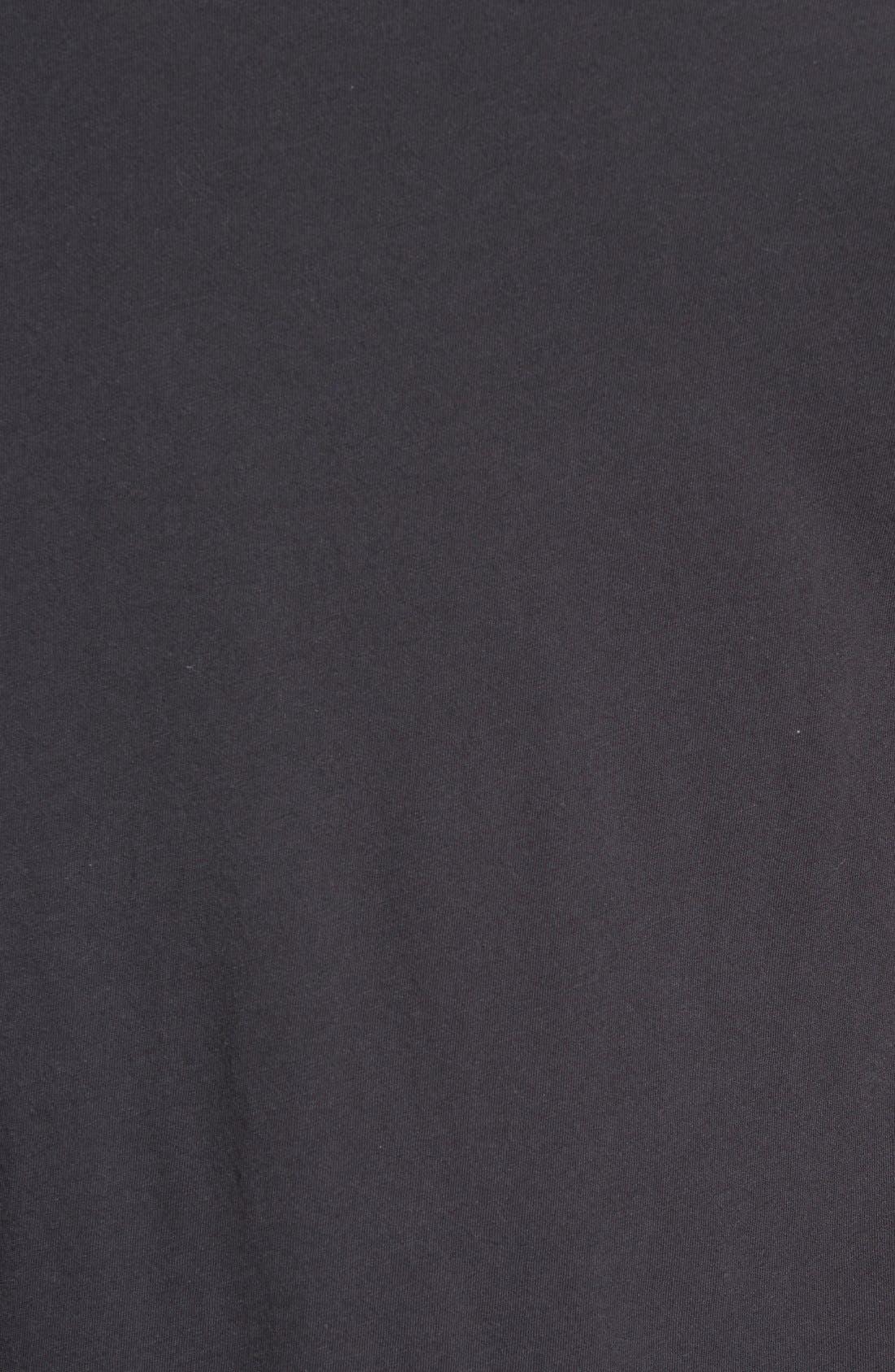 'Dirt' Crewneck T-Shirt,                             Alternate thumbnail 5, color,                             Vintage Black