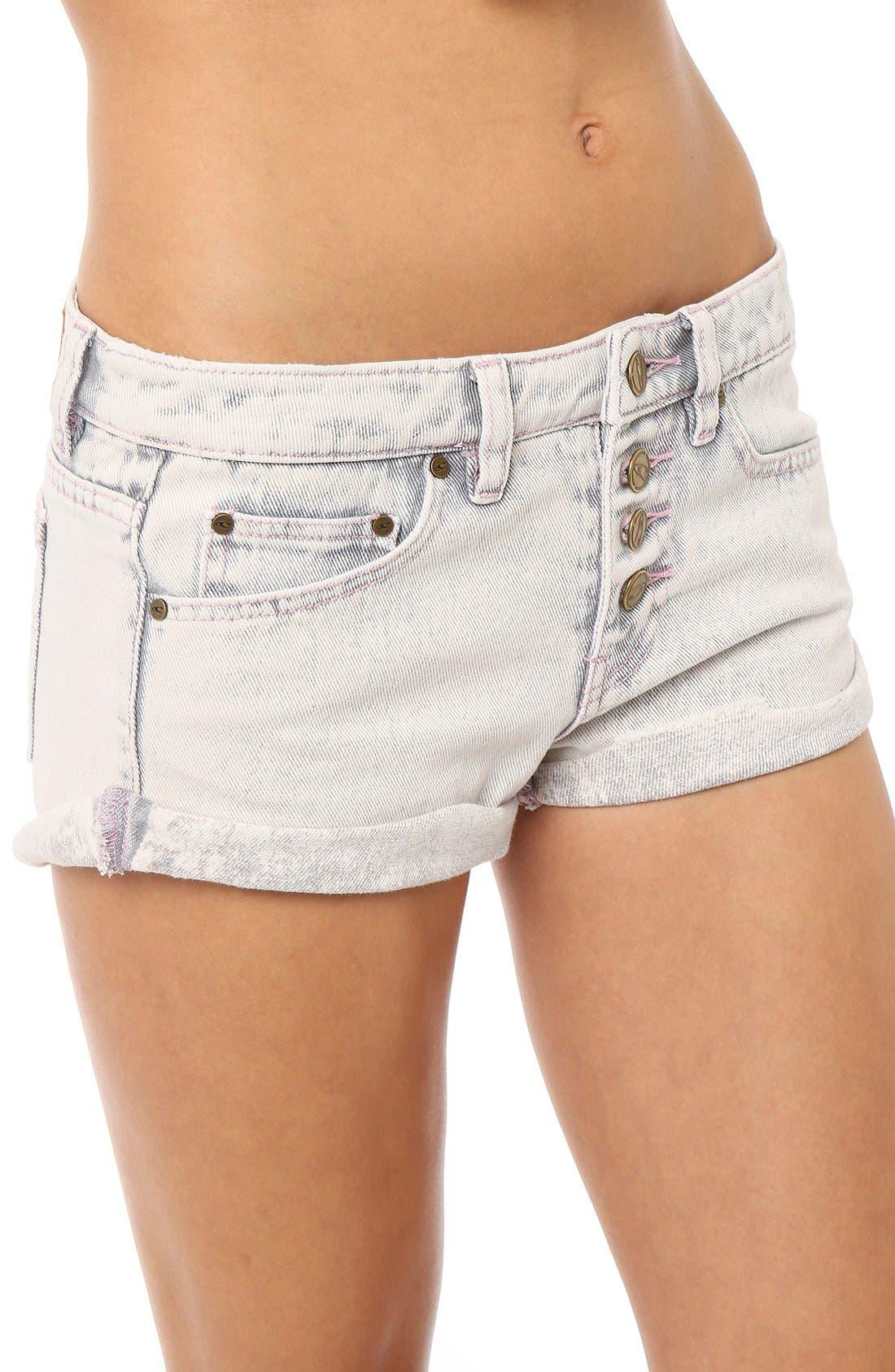 Alternate Image 5  - O'Neill 'Shyla' Denim Shorts