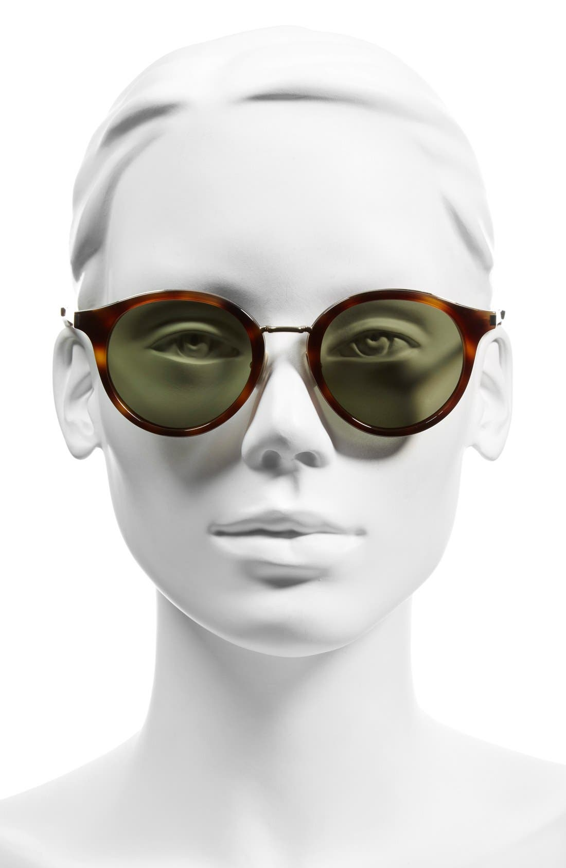 Alternate Image 2  - Saint Laurent 49mm Round Sunglasses