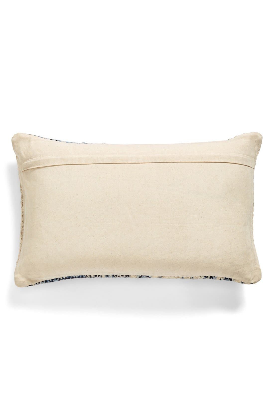 Alternate Image 2  - Brentwood Originals 16 x 26 'Chindi' Woven Pillow