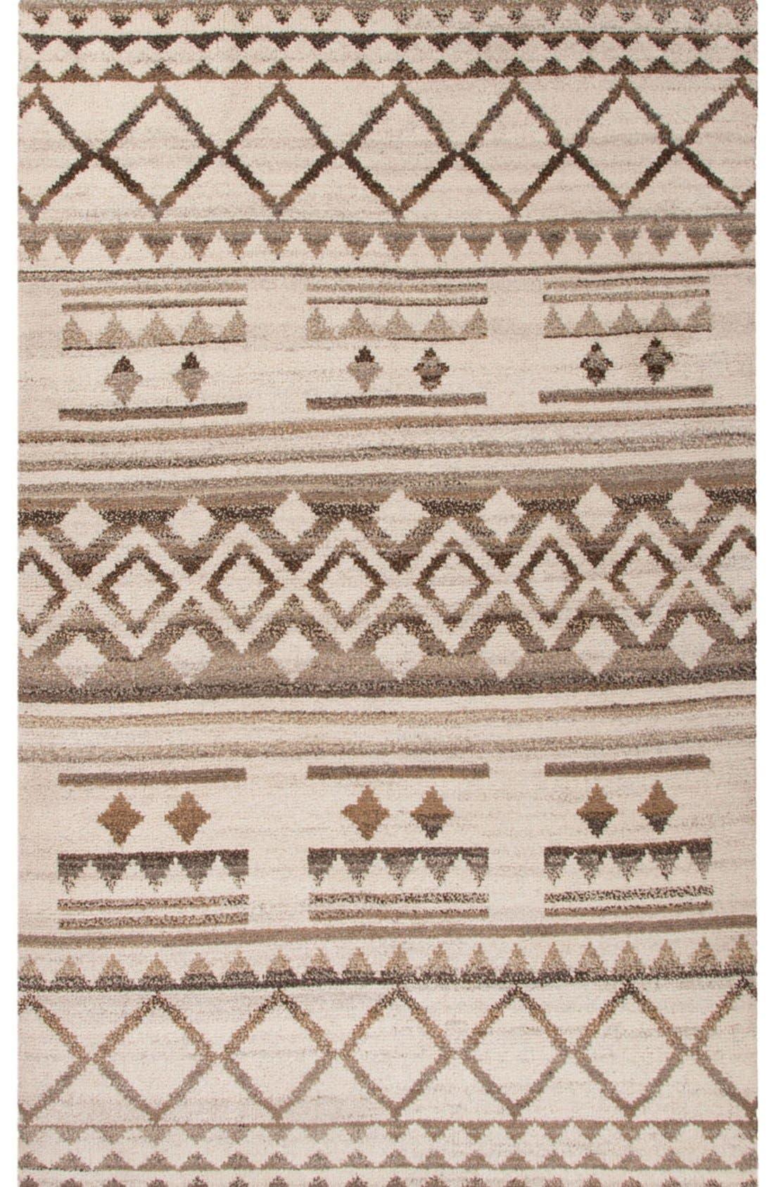'Vanden Bohemian' Wool Rug,                         Main,                         color, Natural/ Brown