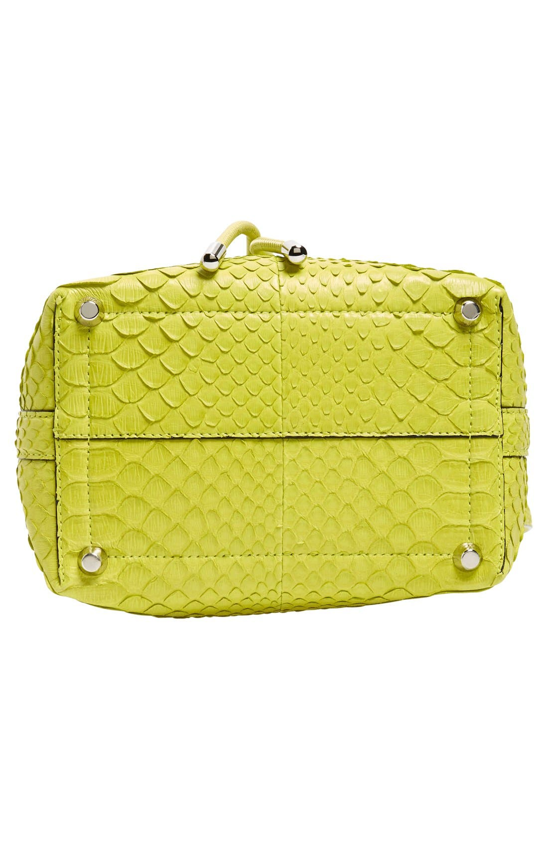 Alternate Image 6  - Proenza Schouler Small Genuine Python Bucket Bag