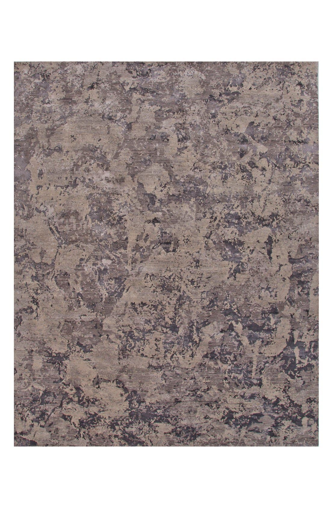 'Chaos Theory' Abstract Rug,                         Main,                         color, Blue