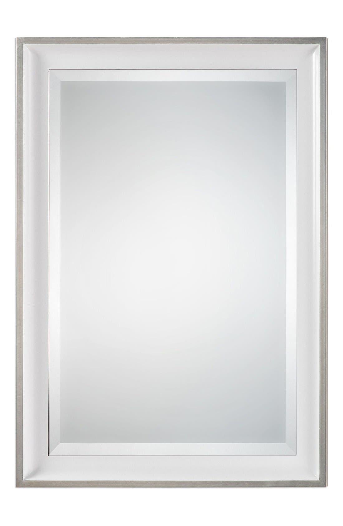 'Lahvahn' Mirror,                             Main thumbnail 1, color,                             Metallic Silver