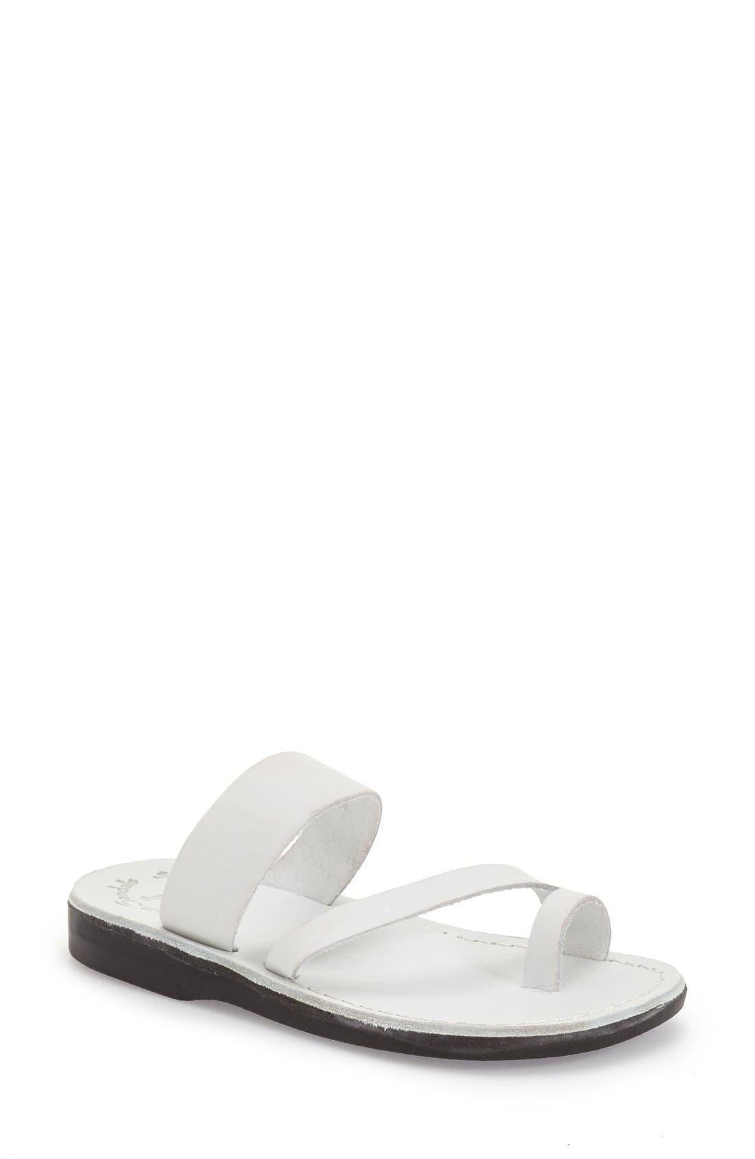 Main Image - Jerusalem Sandals 'Zohar' Leather Sandal (Women)