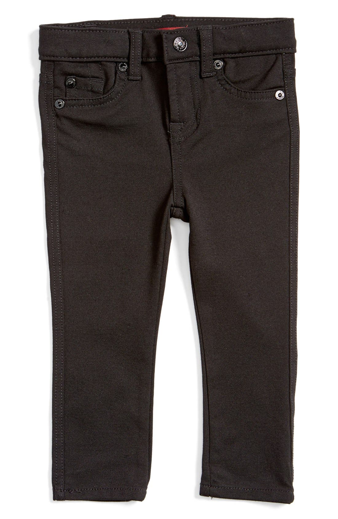 Alternate Image 1 Selected - 7 For All Mankind® Skinny Fit Jeans (Baby)