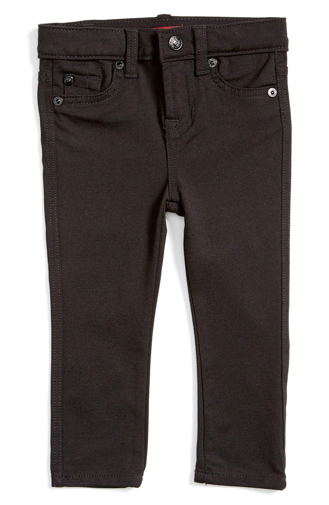 Skinny Fit Jeans,                         Main,                         color, Black