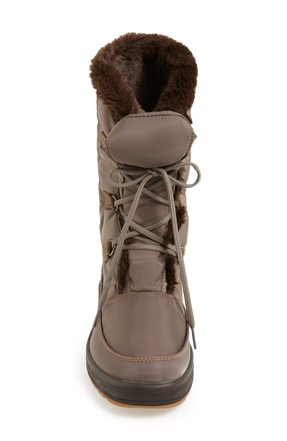 Alternate Image 3  - Pajar 'Marcie' Waterproof Snow Boot with Faux Fur Collar (Women)