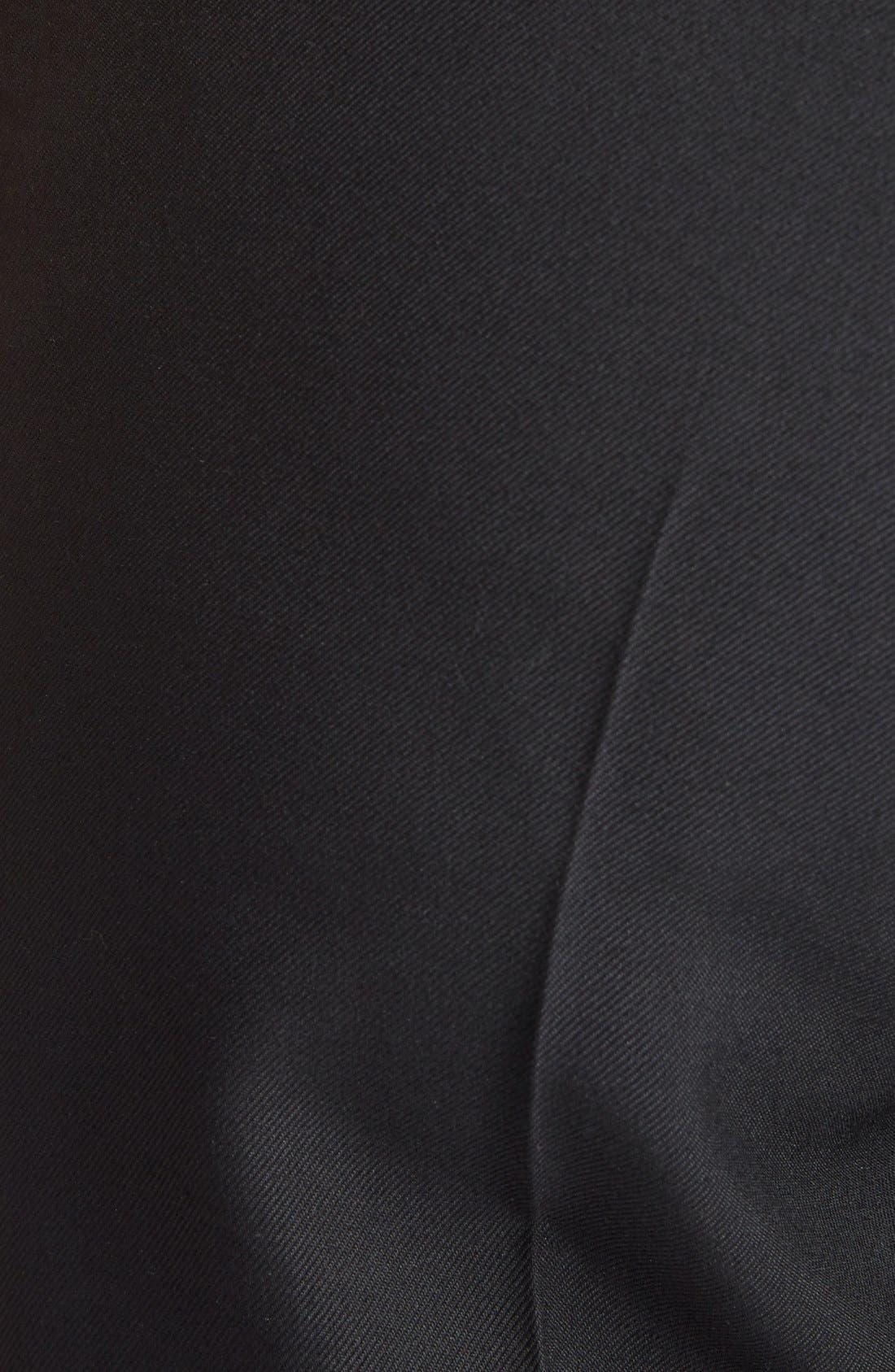 Alternate Image 3  - Saint Laurent Skinny Wool Gabardine Pants