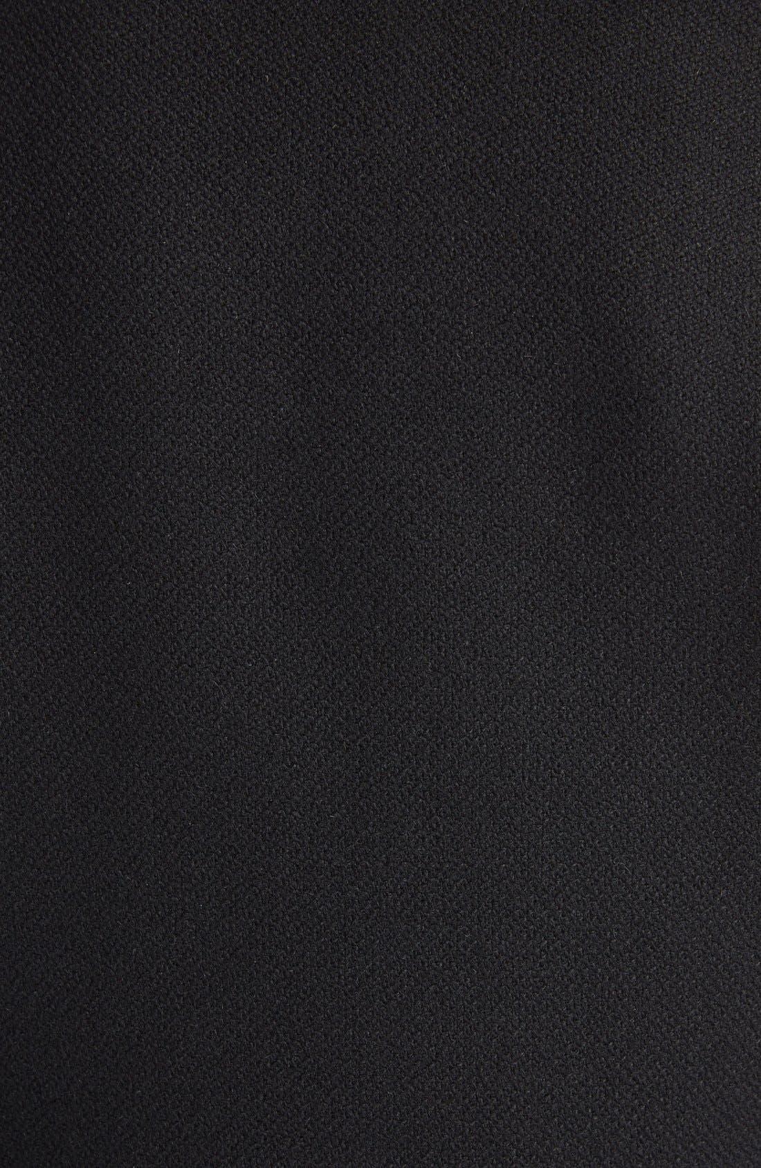 Alternate Image 3  - Saint Laurent 'Teddy' Full Leather Sleeve Bomber Jacket