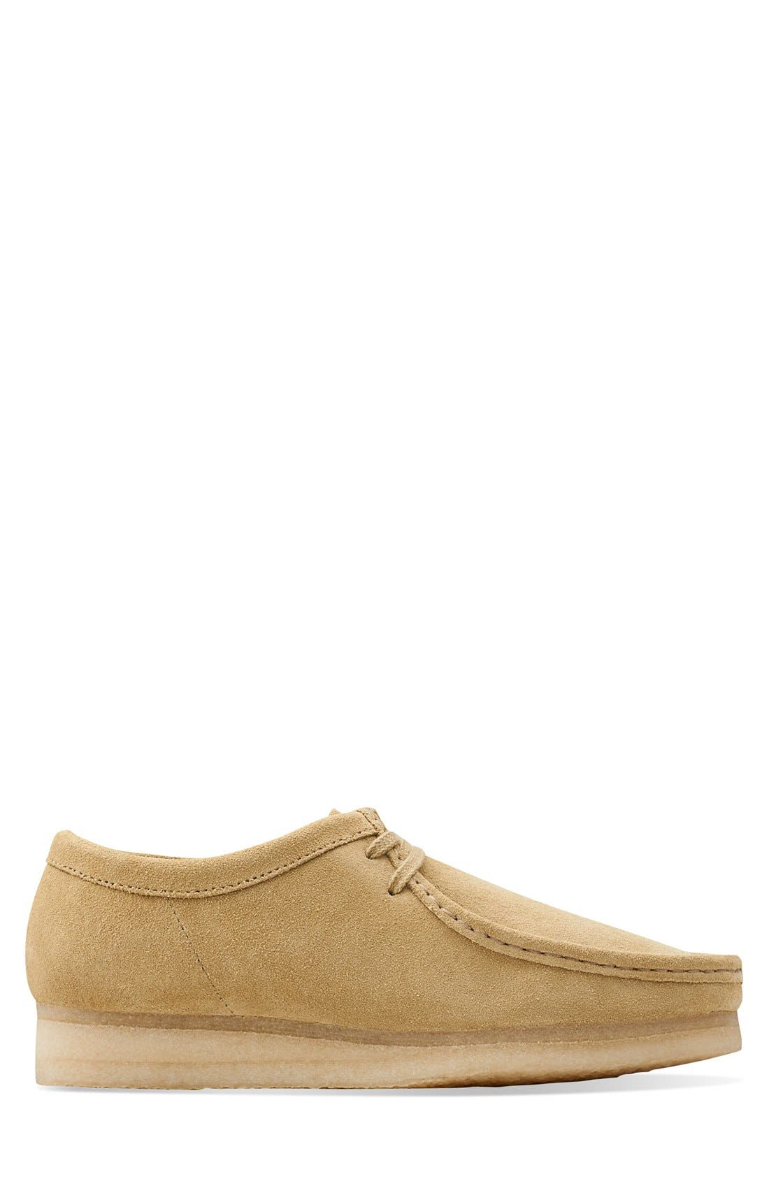 'Wallabee' Moc Toe Derby (Online Only),                             Alternate thumbnail 2, color,                             Maple Suede