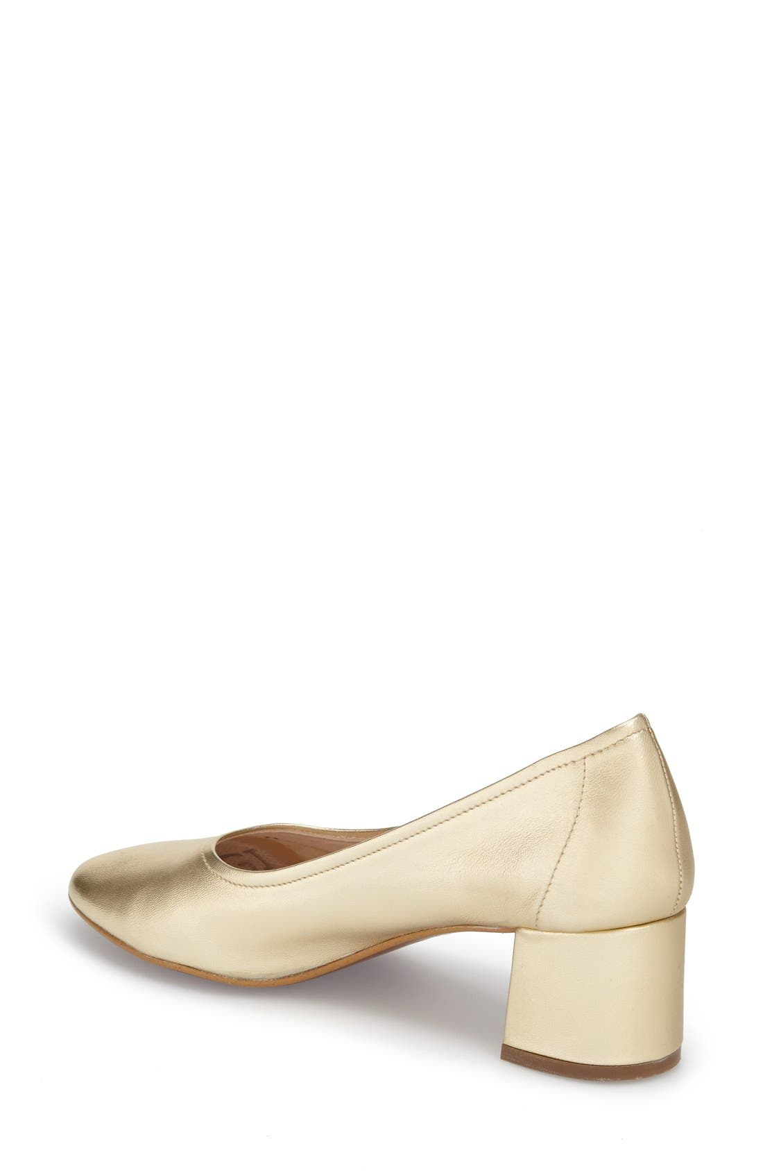 Alternate Image 2  - Topshop 'Juno' Ballet Shoe (Women)