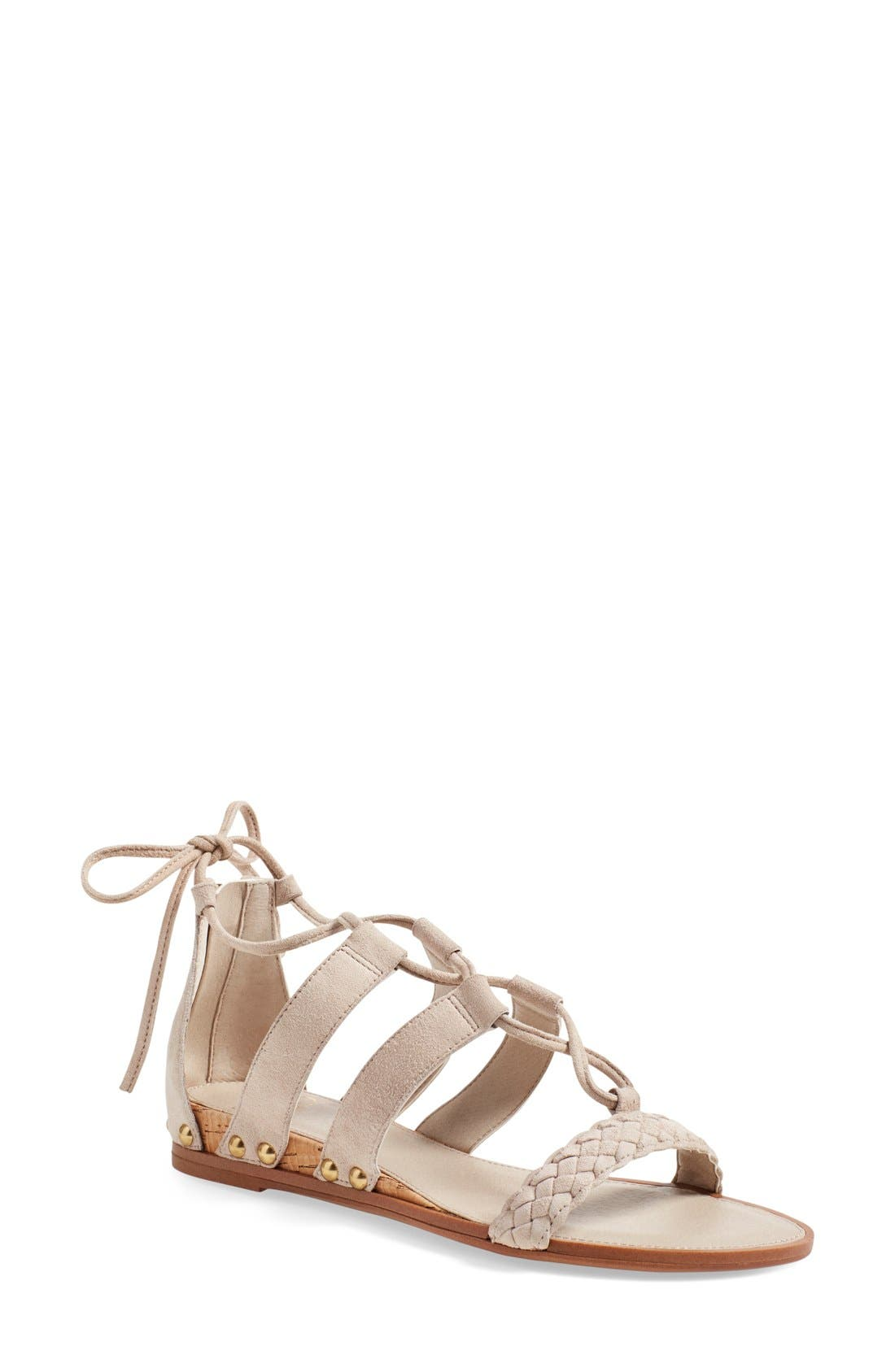 Alternate Image 1 Selected - SARTO by Franco Sarto 'Pierson' Lace-Up Sandal (Women)