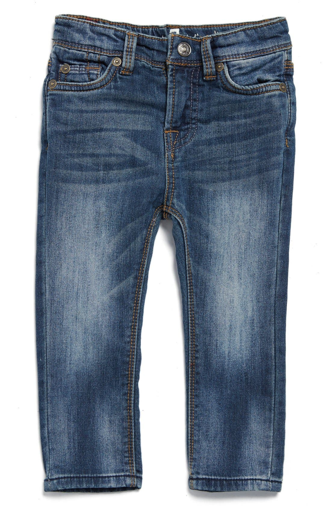 Alternate Image 1 Selected - 7 For All Mankind® Slim Fit Jeans (Baby Boys)